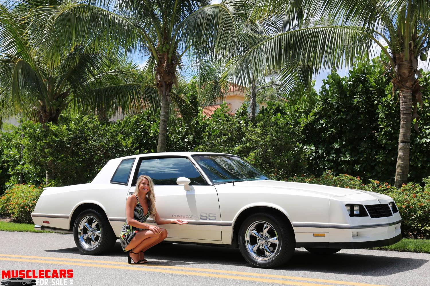 Used 1984 Chevrolet Monte Carlo SS for sale Sold at Muscle Cars for Sale Inc. in Fort Myers FL 33912 8