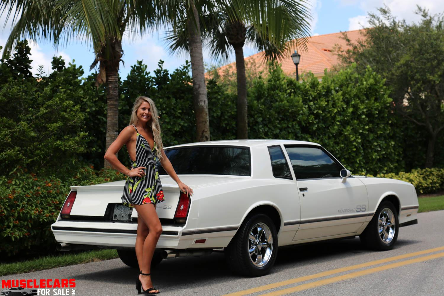 Used 1984 Chevrolet Monte Carlo SS for sale Sold at Muscle Cars for Sale Inc. in Fort Myers FL 33912 1