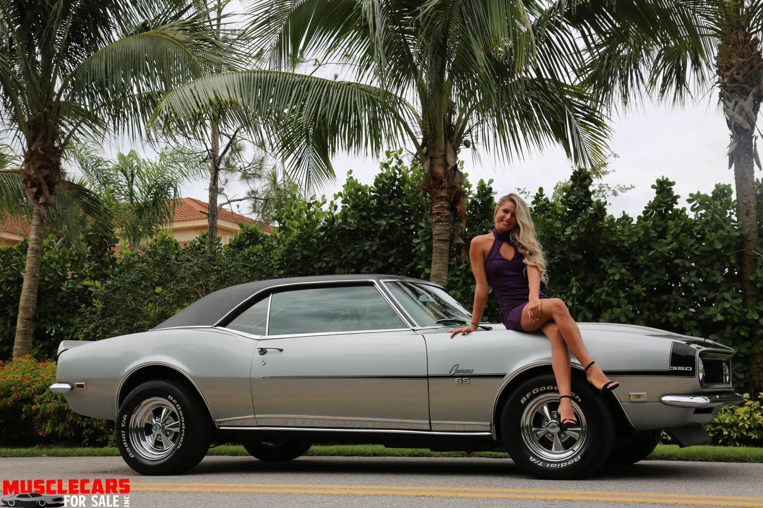 Used 1968 Chevrolet Camaro SS for sale Sold at Muscle Cars for Sale Inc. in Fort Myers FL 33912 4