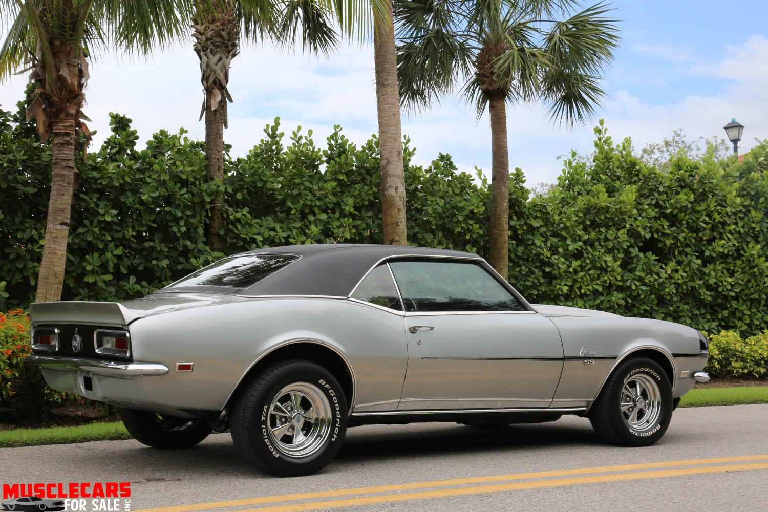 Used 1968 Chevrolet Camaro SS for sale Sold at Muscle Cars for Sale Inc. in Fort Myers FL 33912 7