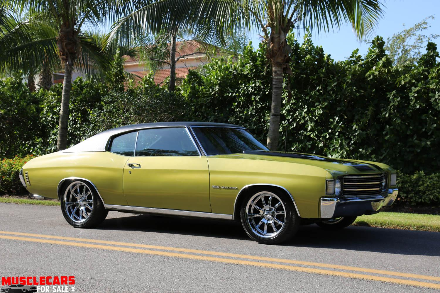 Used 1972 Chevrolet Malibu for sale Sold at Muscle Cars for Sale Inc. in Fort Myers FL 33912 7