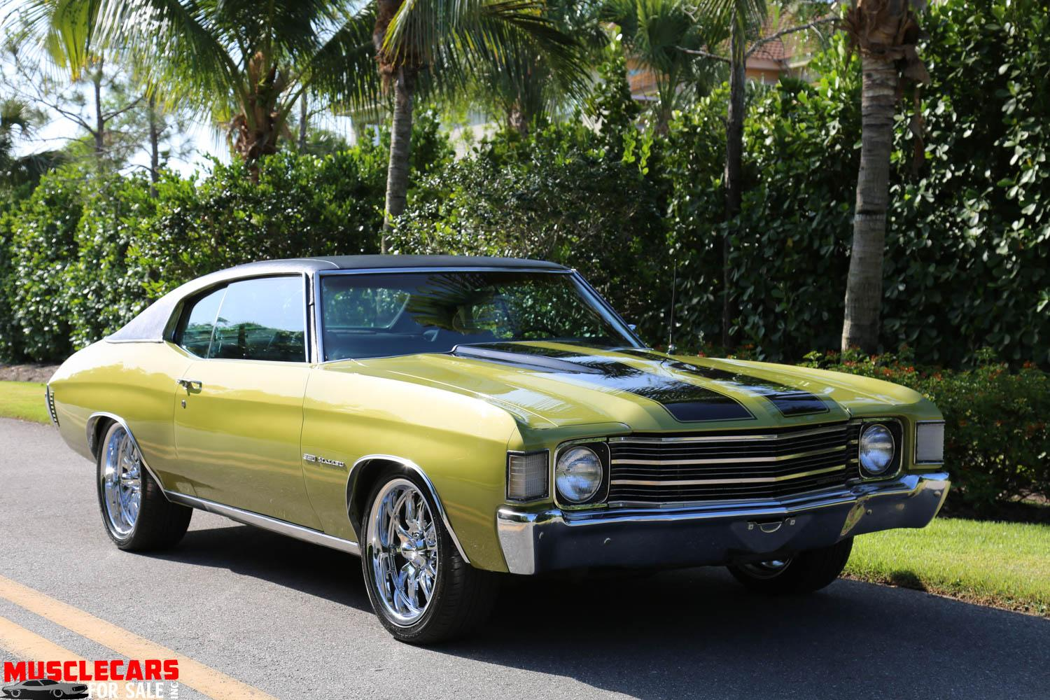 Used 1972 Chevrolet Malibu for sale Sold at Muscle Cars for Sale Inc. in Fort Myers FL 33912 8