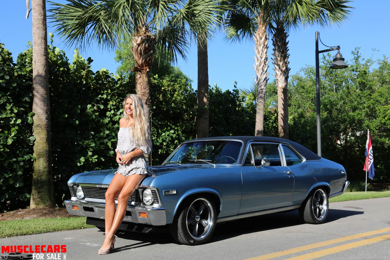 Used 1968 Chevrolet Nova for sale Sold at Muscle Cars for Sale Inc. in Fort Myers FL 33912 3