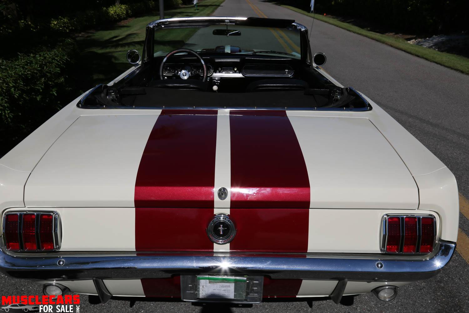 Used 1966 Ford  Mustang Convertible for sale Sold at Muscle Cars for Sale Inc. in Fort Myers FL 33912 2