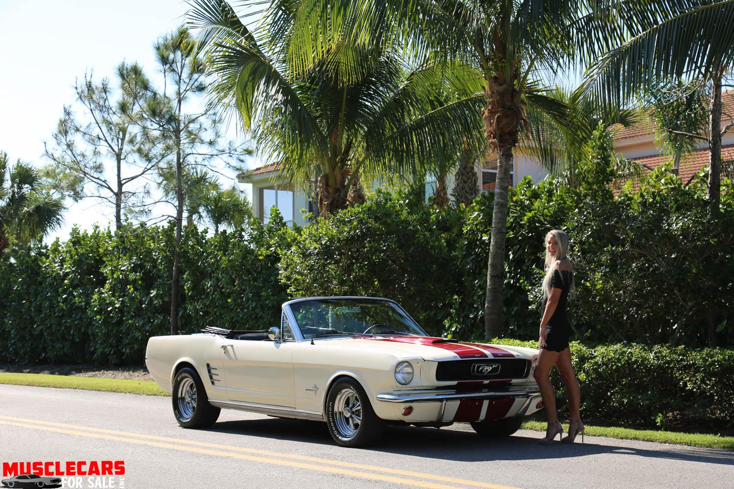 Used 1966 Ford  Mustang Convertible for sale Sold at Muscle Cars for Sale Inc. in Fort Myers FL 33912 3