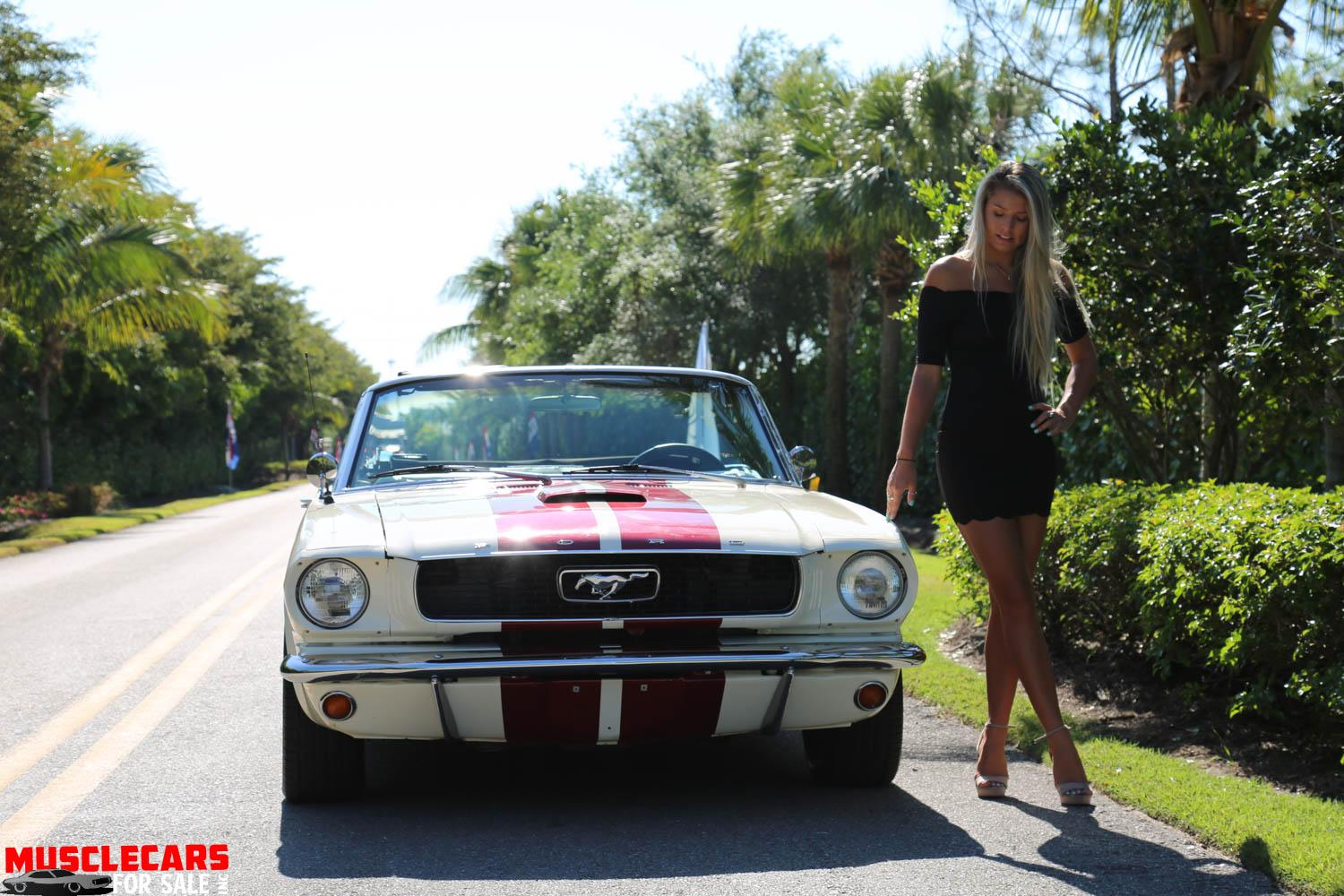 Used 1966 Ford  Mustang Convertible for sale Sold at Muscle Cars for Sale Inc. in Fort Myers FL 33912 4