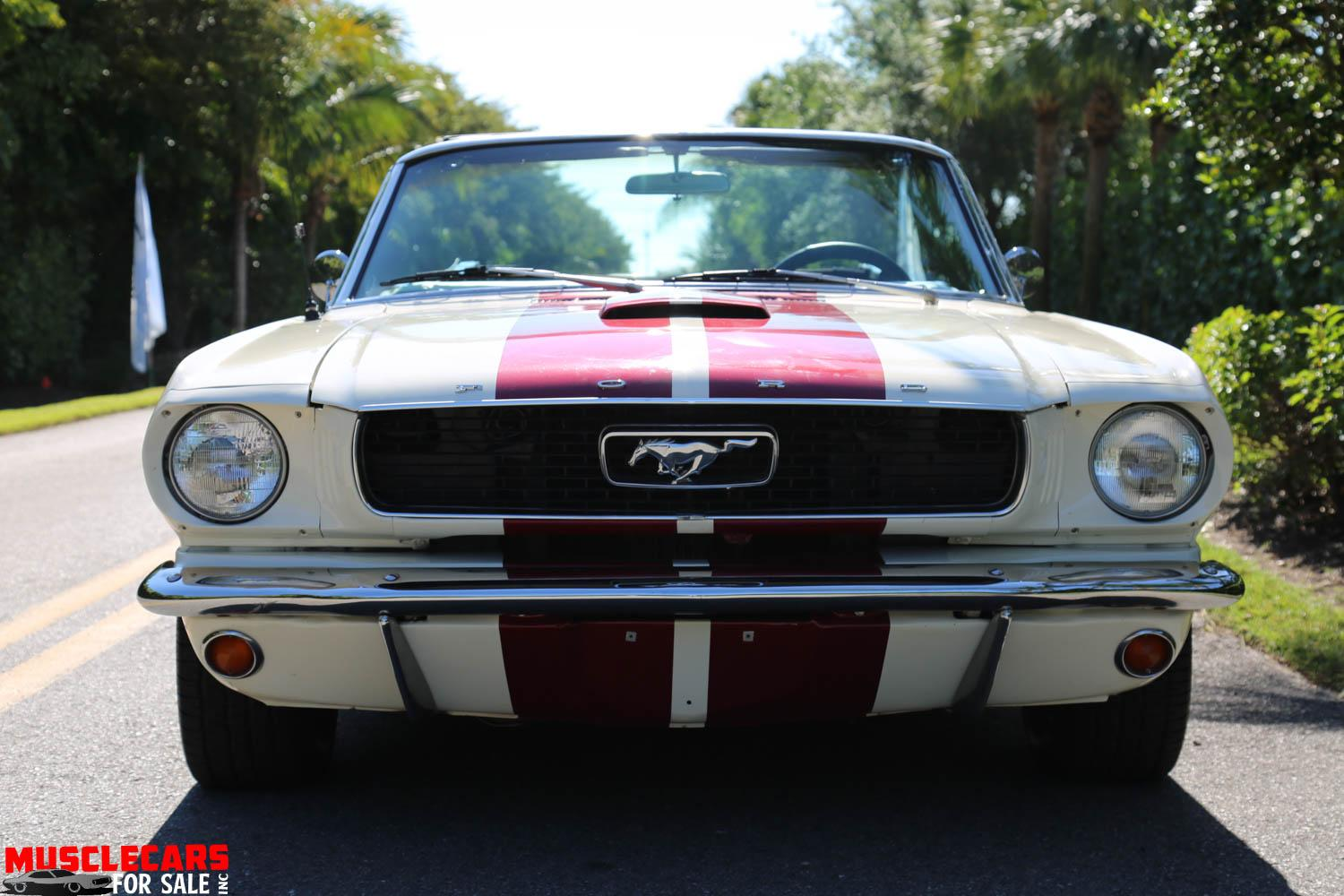 Used 1966 Ford  Mustang Convertible for sale Sold at Muscle Cars for Sale Inc. in Fort Myers FL 33912 5