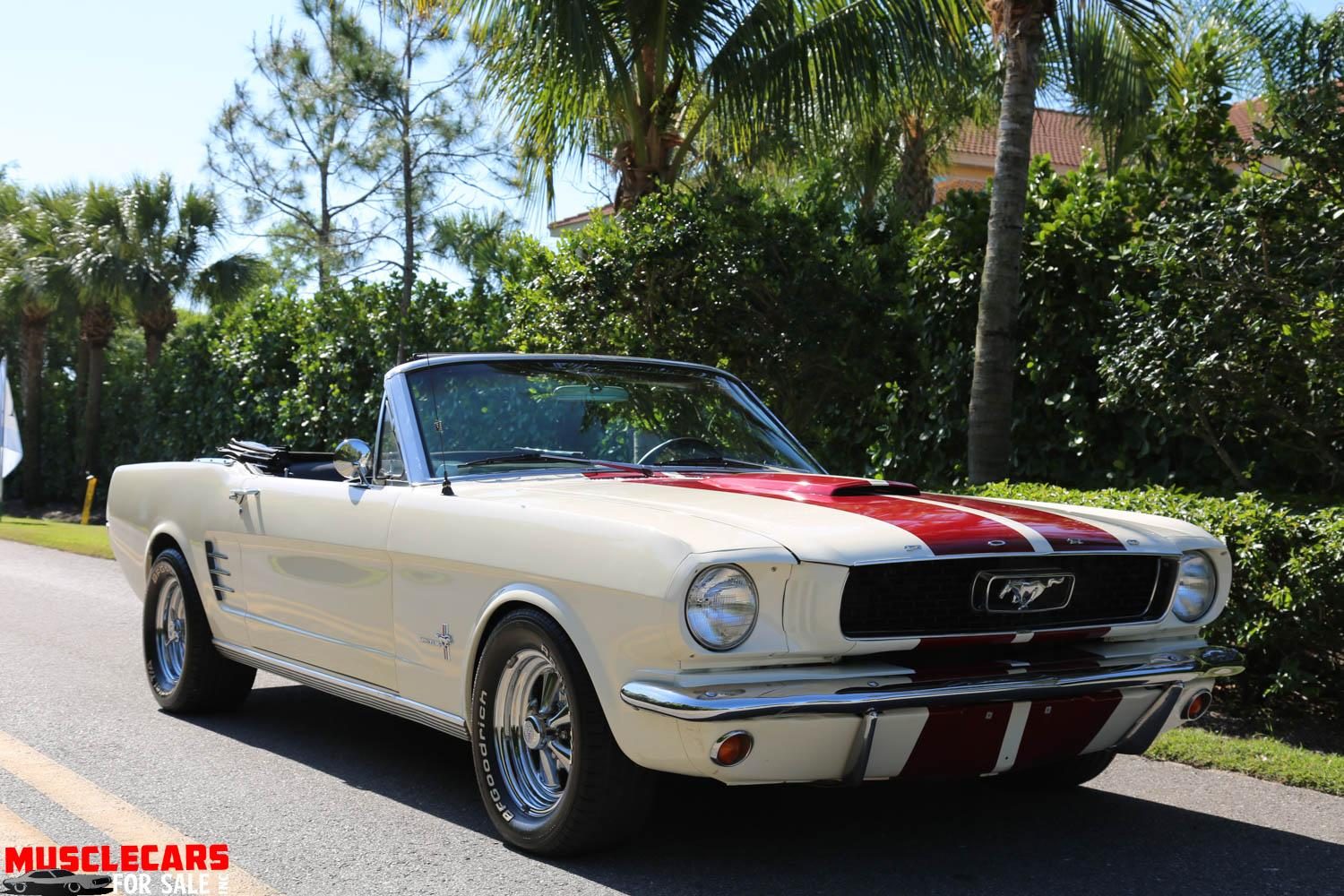 Used 1966 Ford  Mustang Convertible for sale Sold at Muscle Cars for Sale Inc. in Fort Myers FL 33912 6