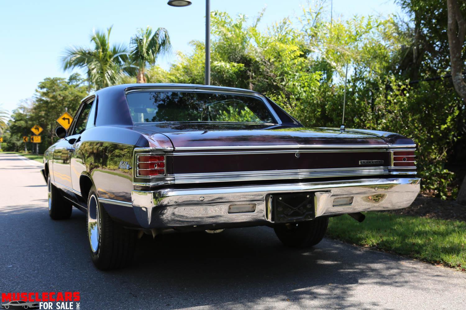 Used 1967 Chevrolet Malibu for sale Sold at Muscle Cars for Sale Inc. in Fort Myers FL 33912 2
