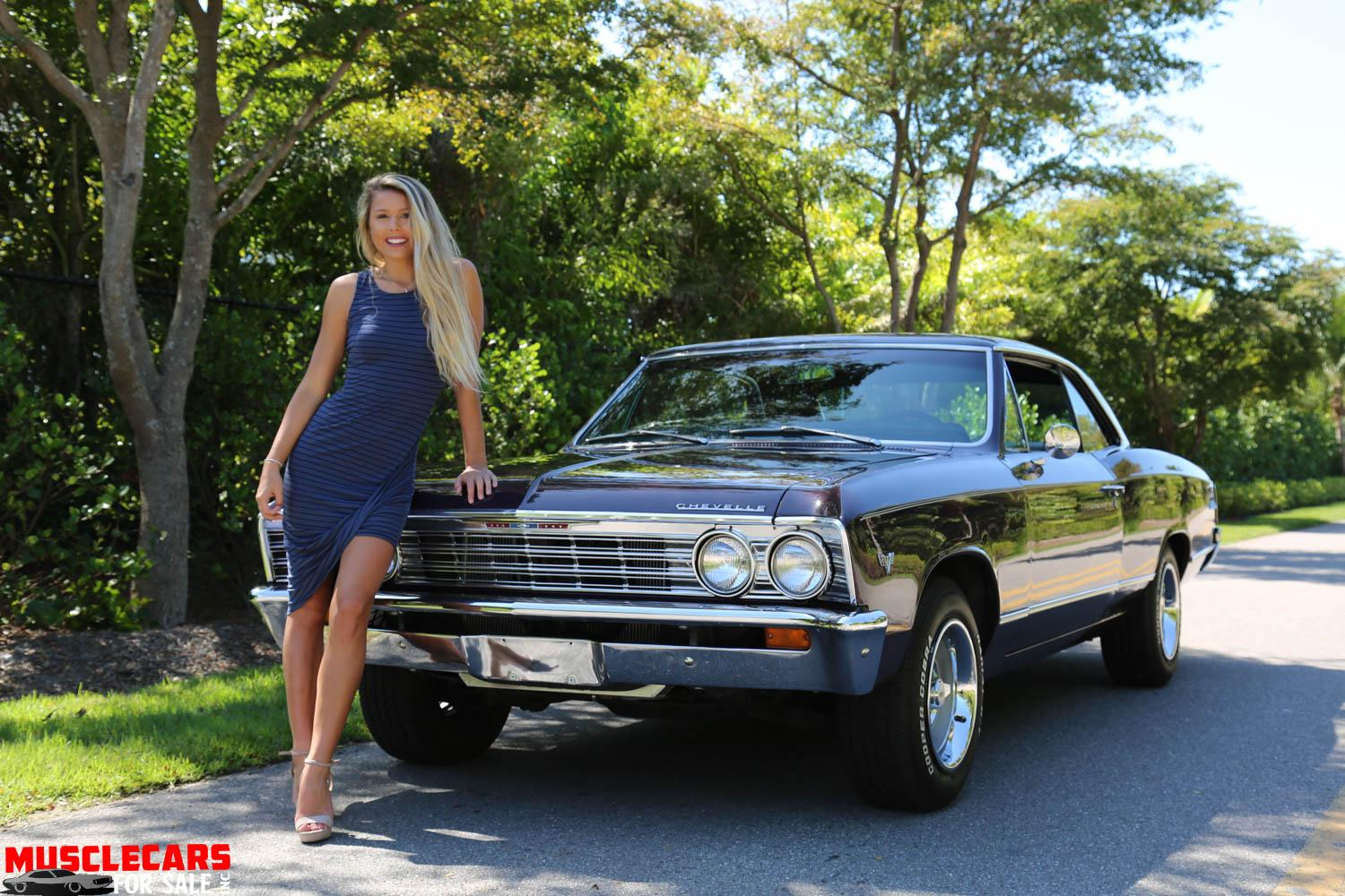 Used 1967 Chevrolet Malibu for sale Sold at Muscle Cars for Sale Inc. in Fort Myers FL 33912 6