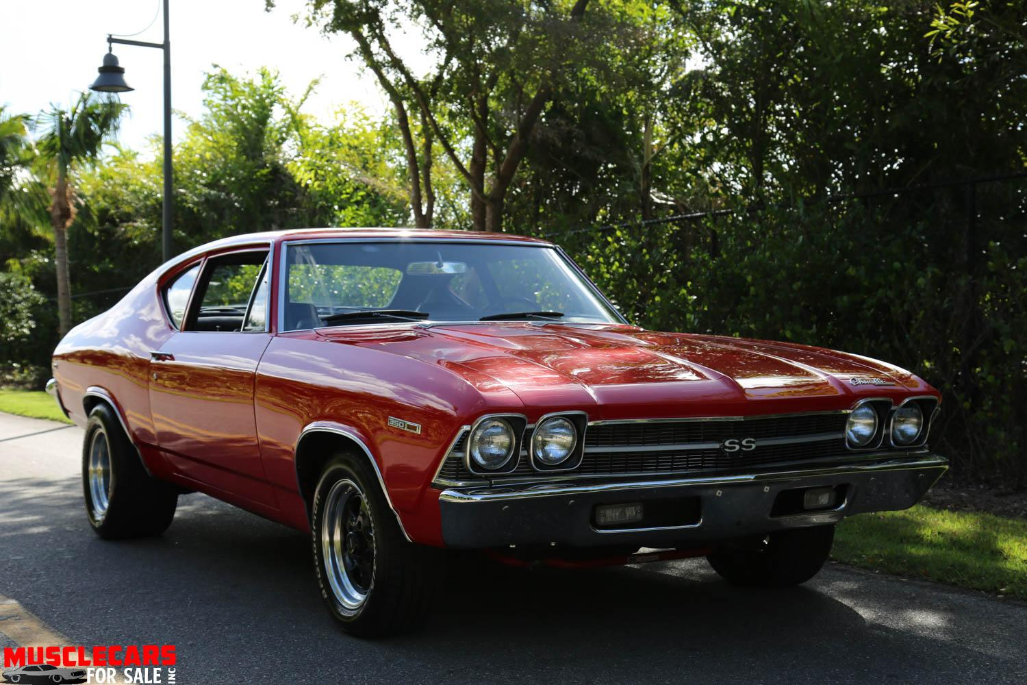 Used 1969 Chevrolet Chevelle SS for sale Sold at Muscle Cars for Sale Inc. in Fort Myers FL 33912 3