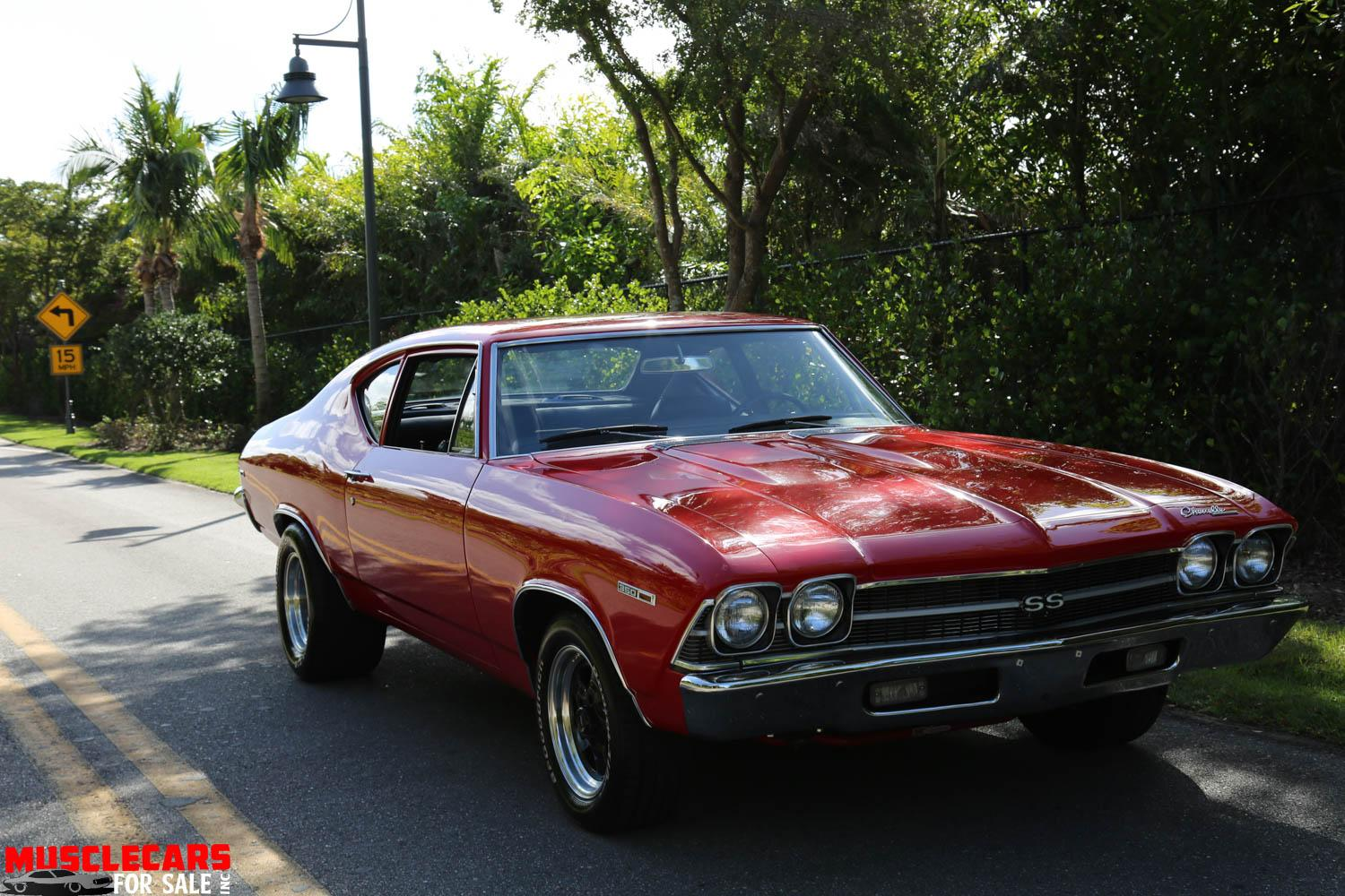 Used 1969 Chevrolet Chevelle SS for sale Sold at Muscle Cars for Sale Inc. in Fort Myers FL 33912 6