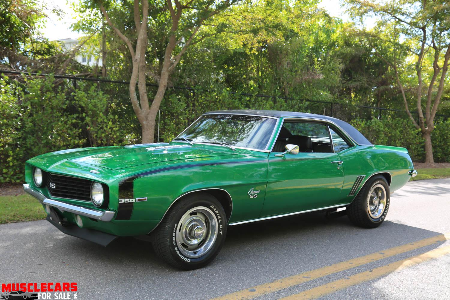Used 1969 Chevrolet Camaro SS for sale Sold at Muscle Cars for Sale Inc. in Fort Myers FL 33912 3