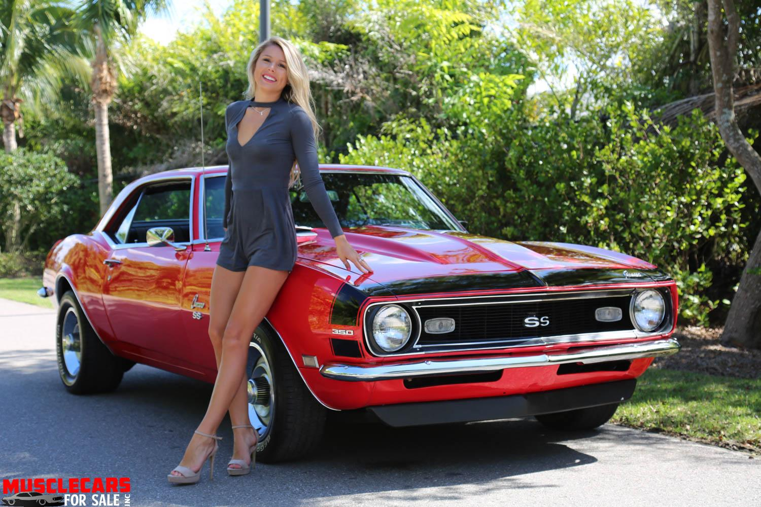Used 1968 Chevrolet Camaro SS for sale Sold at Muscle Cars for Sale Inc. in Fort Myers FL 33912 1