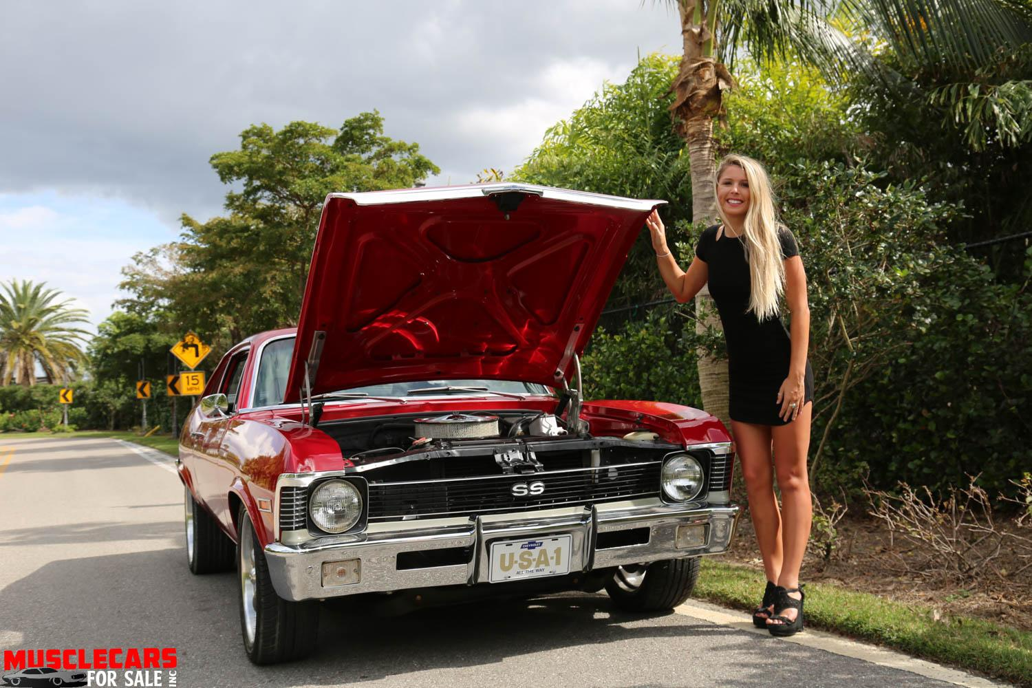 Used 1971 Chevrolet Nova for sale Sold at Muscle Cars for Sale Inc. in Fort Myers FL 33912 4