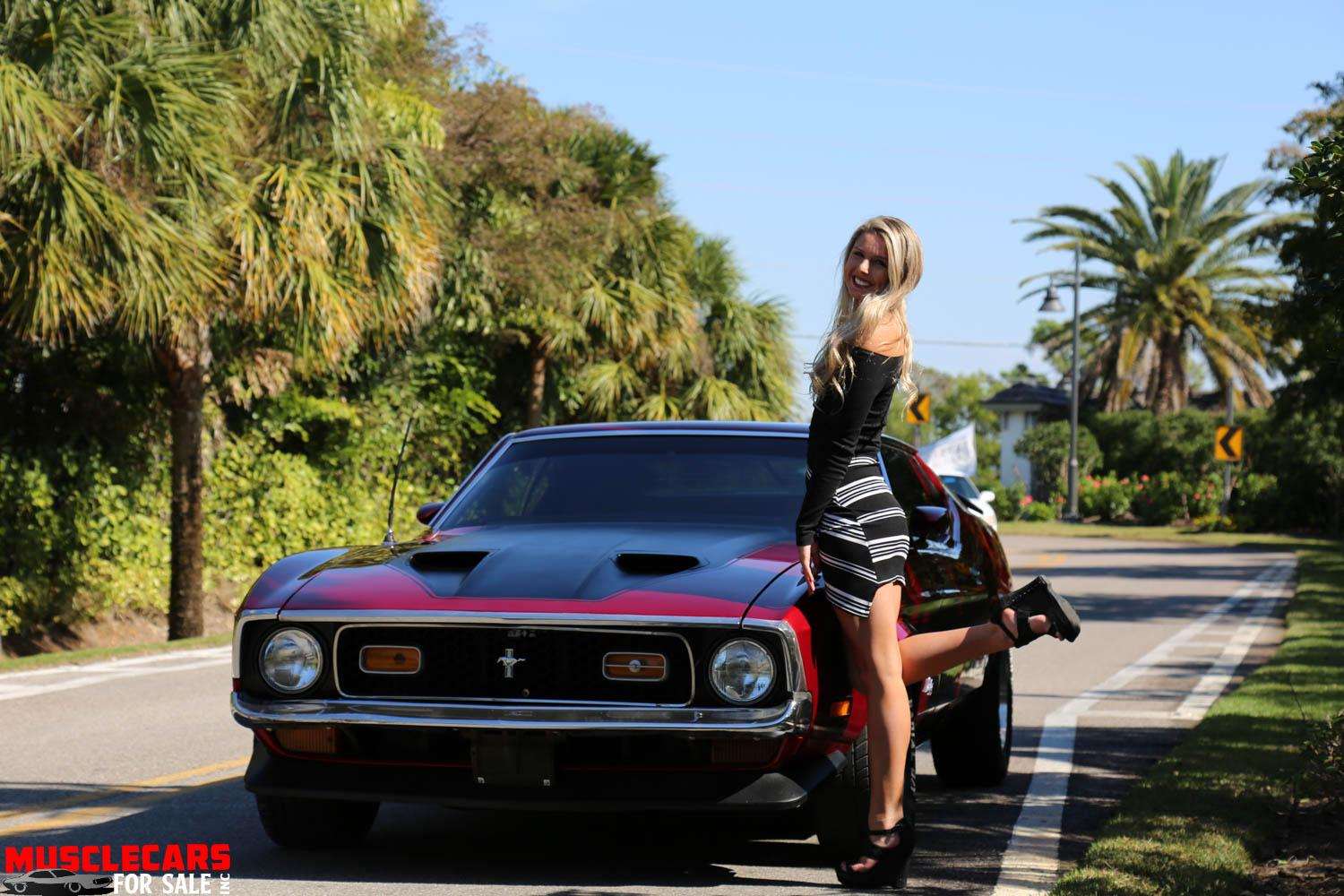 Used 1971 FASTBACK Mustang Mustang for sale Sold at Muscle Cars for Sale Inc. in Fort Myers FL 33912 4
