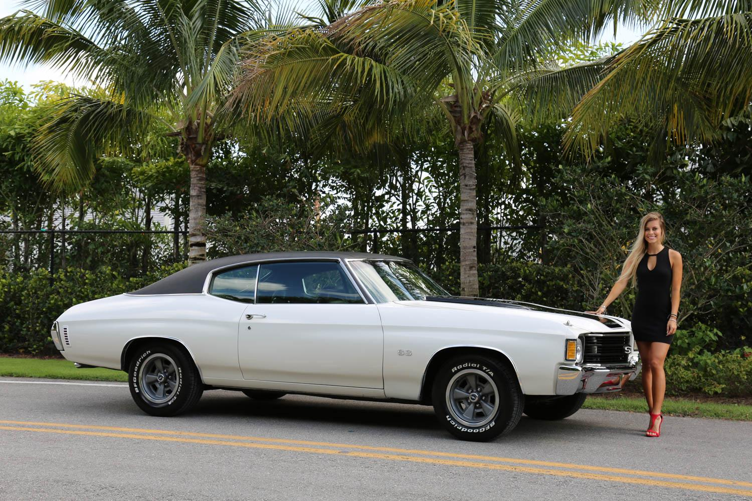 Used 1972 Chevrolet Chevelle SS for sale Sold at Muscle Cars for Sale Inc. in Fort Myers FL 33912 3