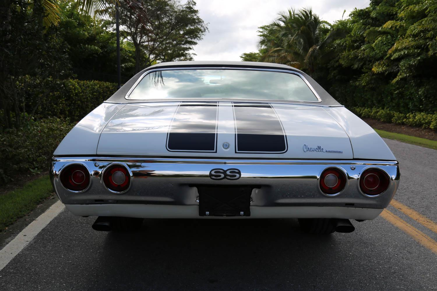 Used 1972 Chevrolet Chevelle SS for sale Sold at Muscle Cars for Sale Inc. in Fort Myers FL 33912 4