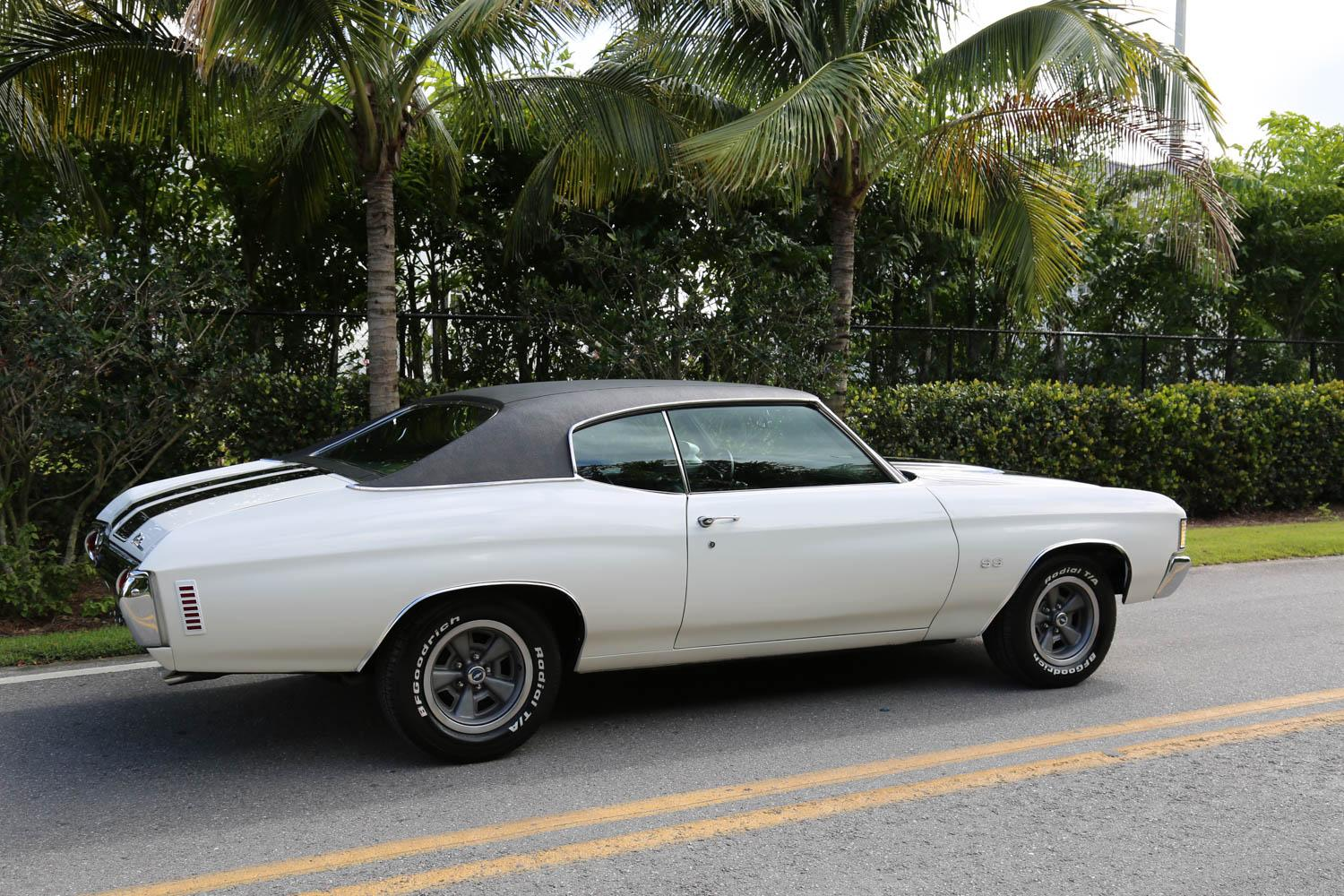 Used 1972 Chevrolet Chevelle SS for sale Sold at Muscle Cars for Sale Inc. in Fort Myers FL 33912 6