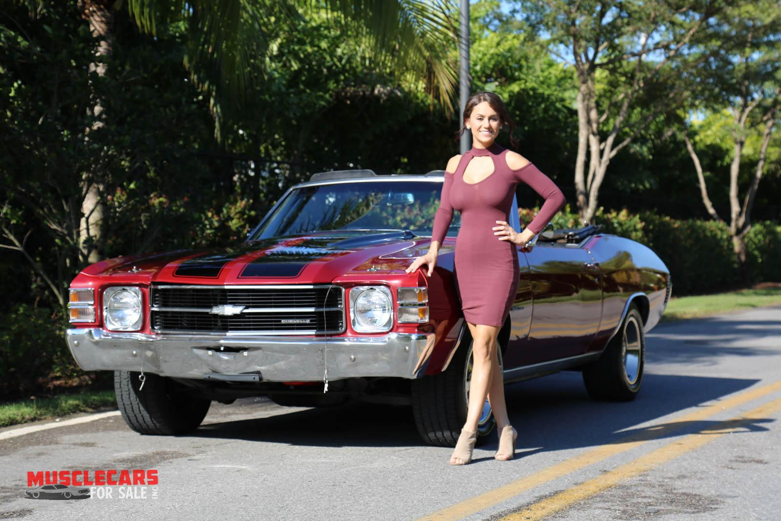 Used 1971 Chevrolet Chevelle for sale Sold at Muscle Cars for Sale Inc. in Fort Myers FL 33912 2