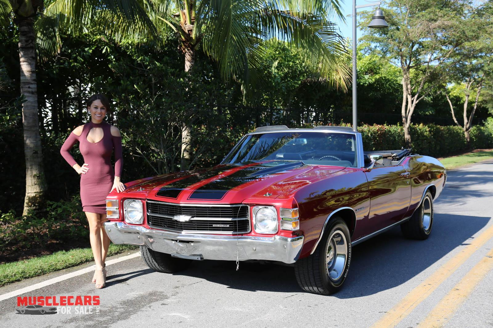 Used 1971 Chevrolet Chevelle for sale Sold at Muscle Cars for Sale Inc. in Fort Myers FL 33912 3