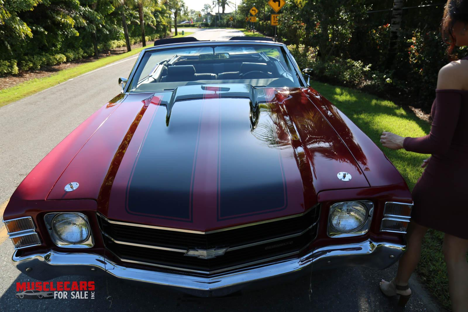 Used 1971 Chevrolet Chevelle for sale Sold at Muscle Cars for Sale Inc. in Fort Myers FL 33912 4