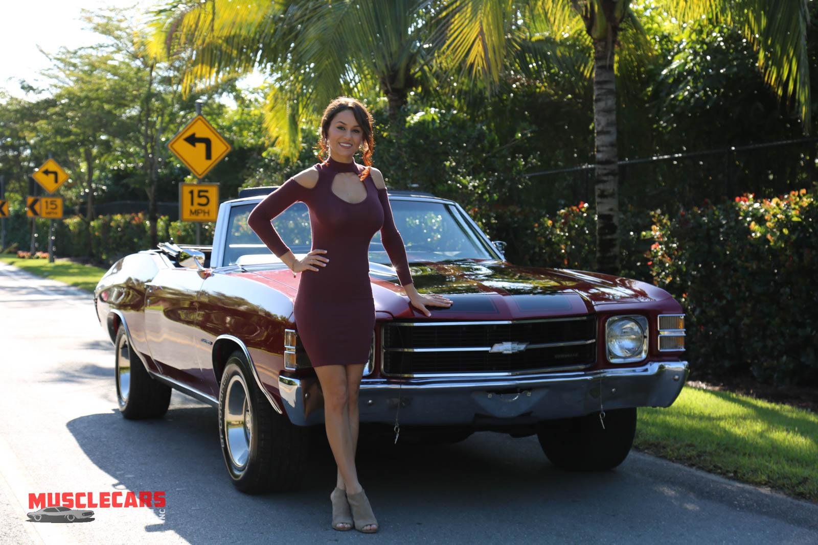 Used 1971 Chevrolet Chevelle for sale Sold at Muscle Cars for Sale Inc. in Fort Myers FL 33912 5