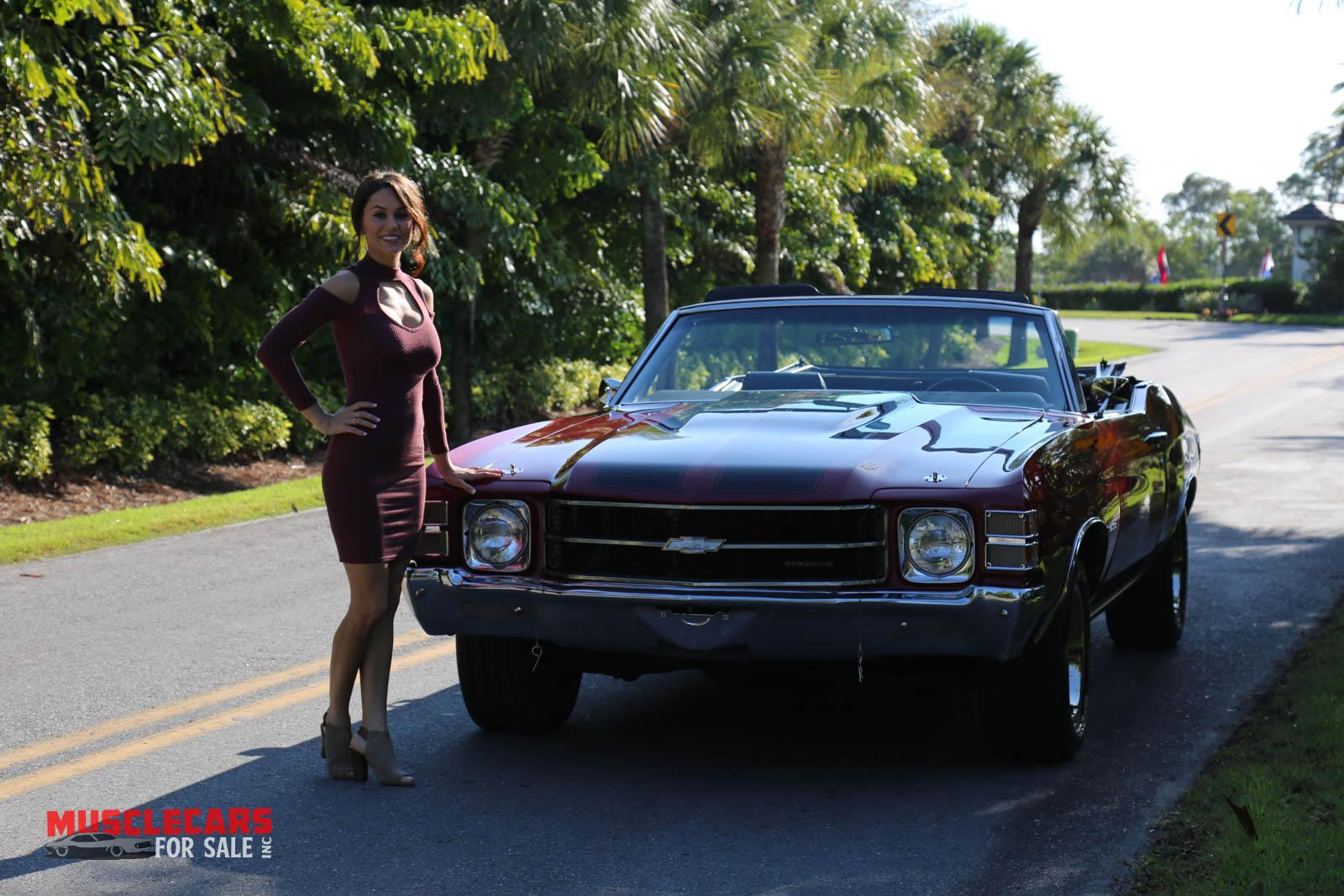 Used 1971 Chevrolet Chevelle for sale Sold at Muscle Cars for Sale Inc. in Fort Myers FL 33912 6