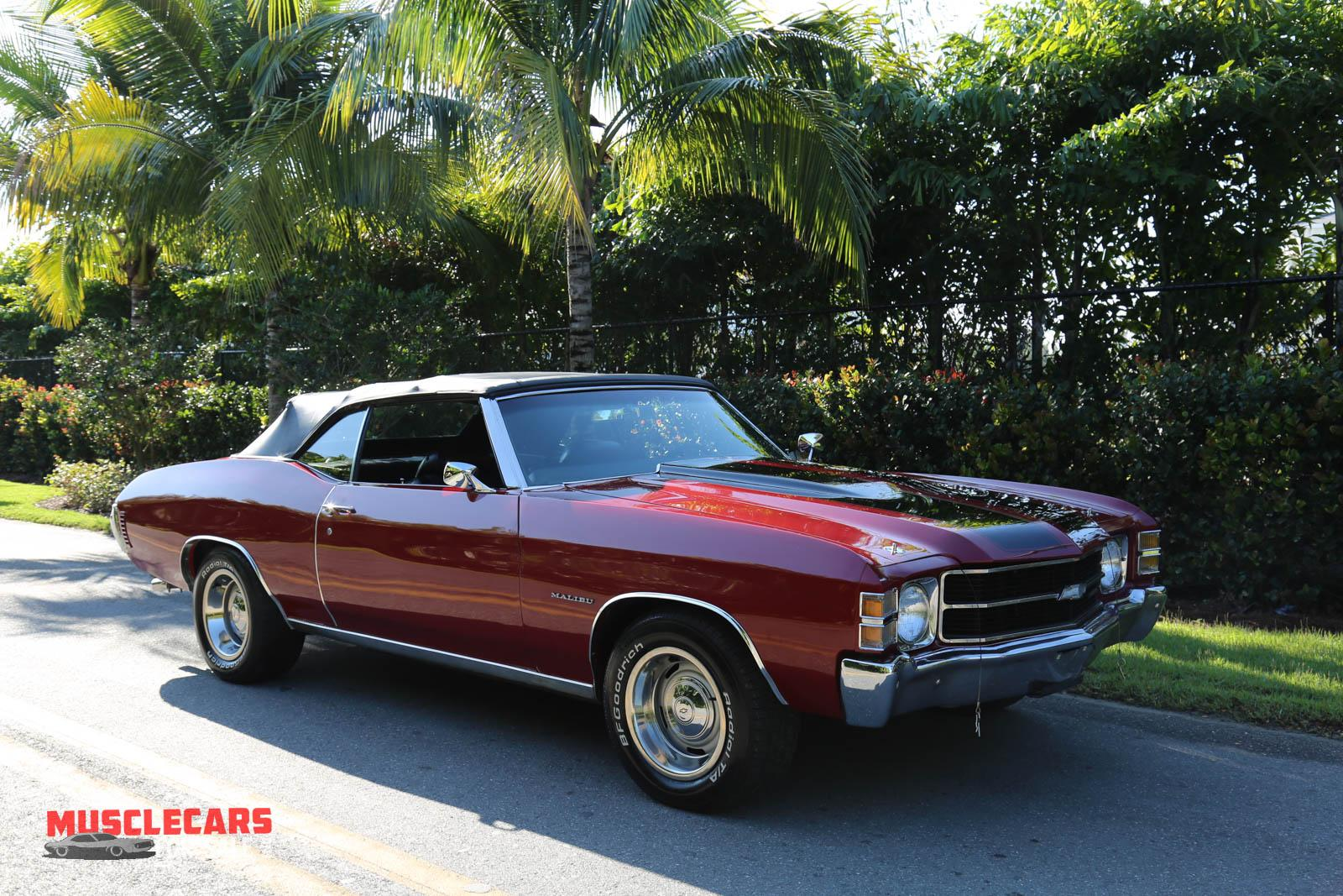 Used 1971 Chevrolet Chevelle for sale Sold at Muscle Cars for Sale Inc. in Fort Myers FL 33912 7