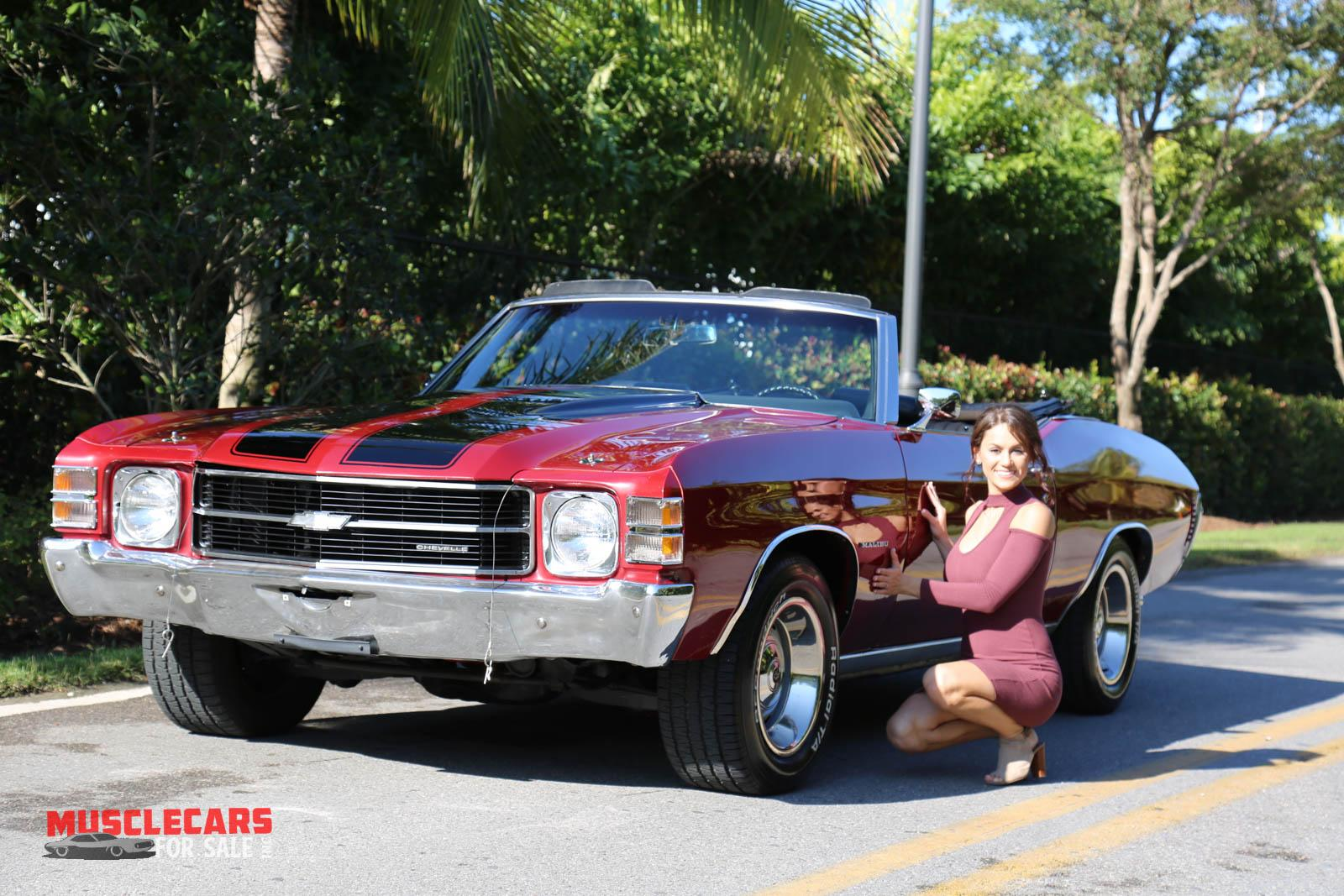 Used 1971 Chevrolet Chevelle for sale Sold at Muscle Cars for Sale Inc. in Fort Myers FL 33912 1