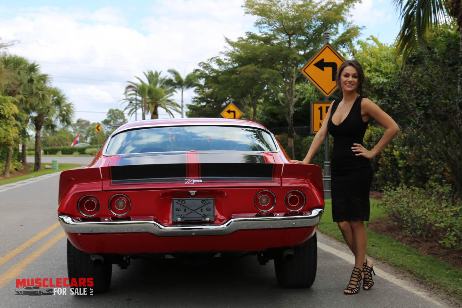 Used 1973 Chevrolet Camaro Z/28 for sale Sold at Muscle Cars for Sale Inc. in Fort Myers FL 33912 7