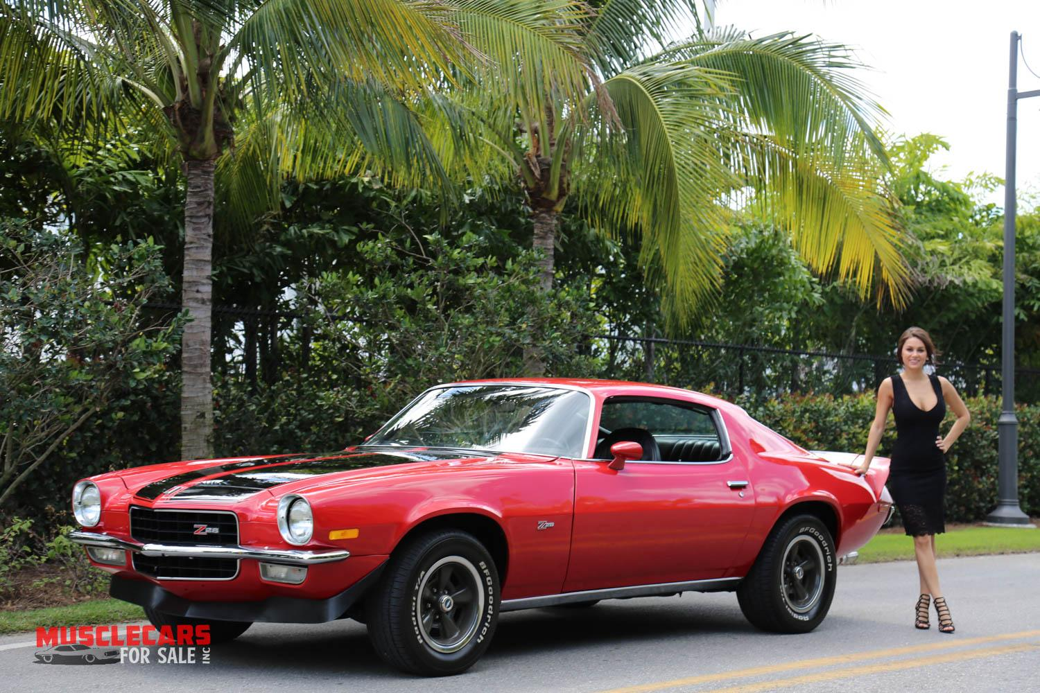 Used 1973 Chevrolet Camaro Z/28 for sale Sold at Muscle Cars for Sale Inc. in Fort Myers FL 33912 1