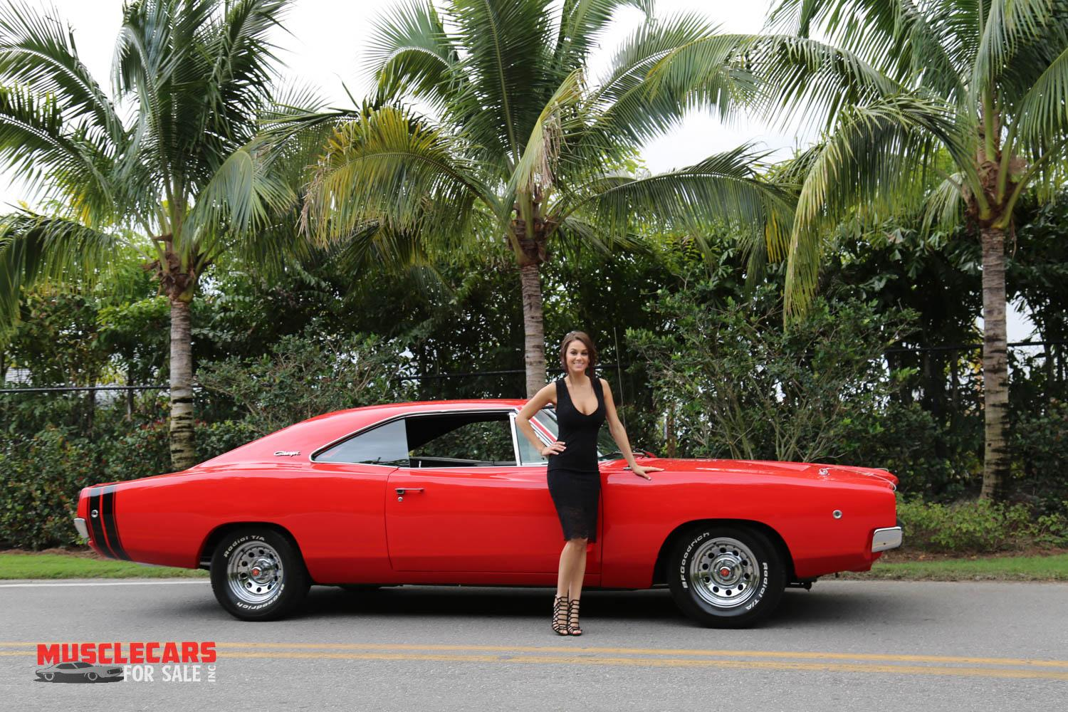 Used 1968 Dodge  Charger R/T for sale Sold at Muscle Cars for Sale Inc. in Fort Myers FL 33912 6