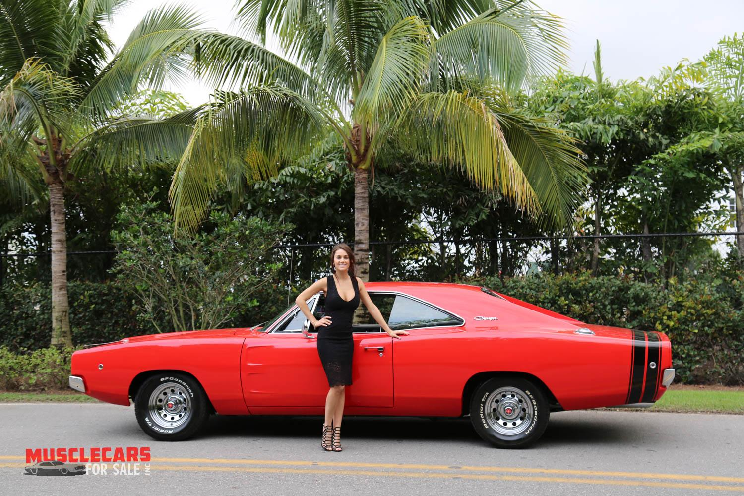 Used 1968 Dodge  Charger R/T for sale Sold at Muscle Cars for Sale Inc. in Fort Myers FL 33912 8