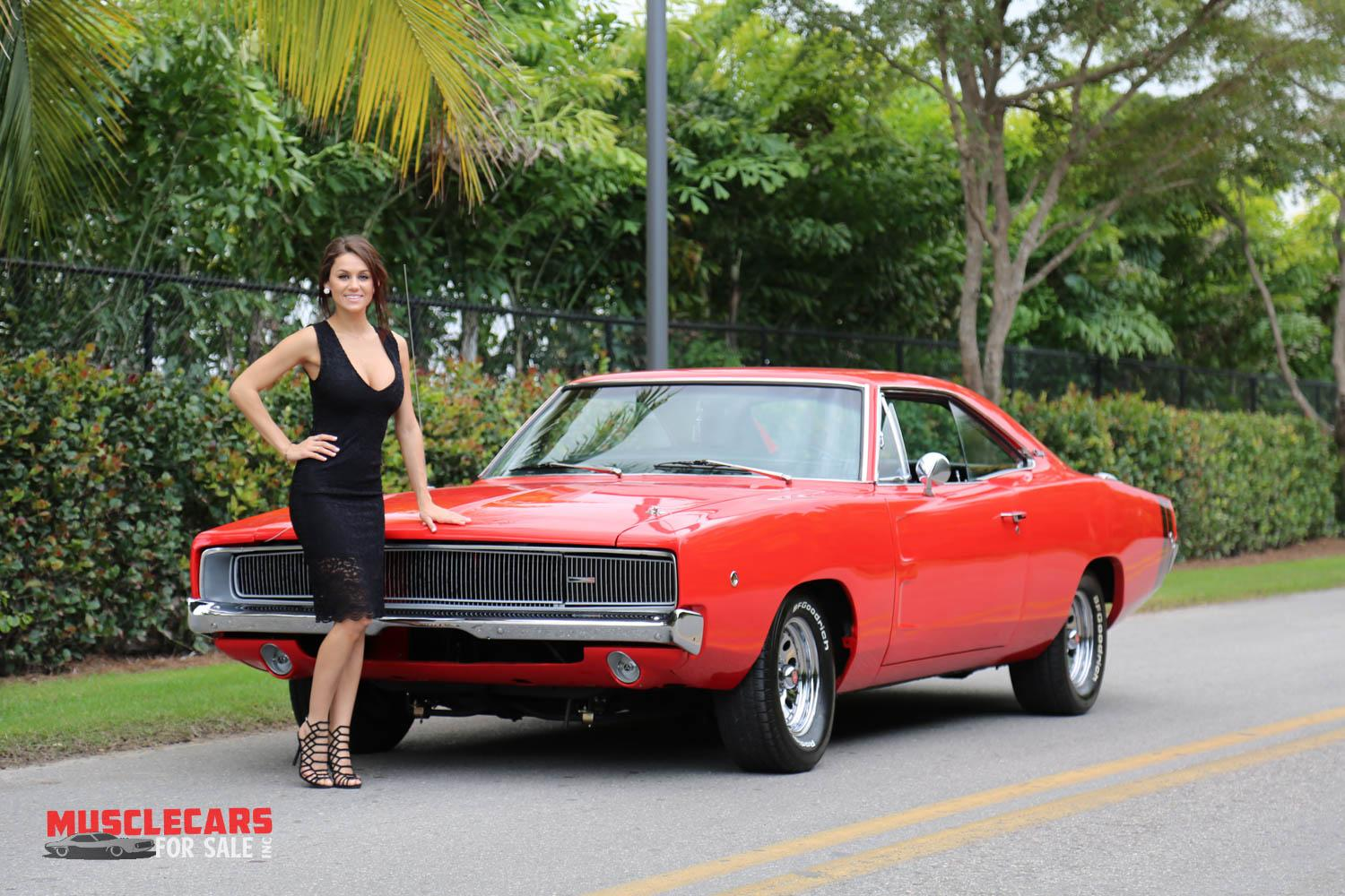 Used 1968 Dodge  Charger R/T for sale Sold at Muscle Cars for Sale Inc. in Fort Myers FL 33912 1