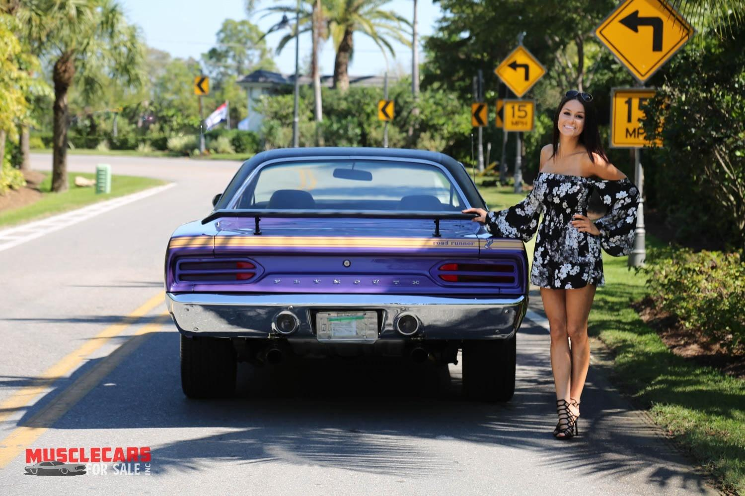 Used 1970 Plymouth  Road Runner for sale Sold at Muscle Cars for Sale Inc. in Fort Myers FL 33912 7