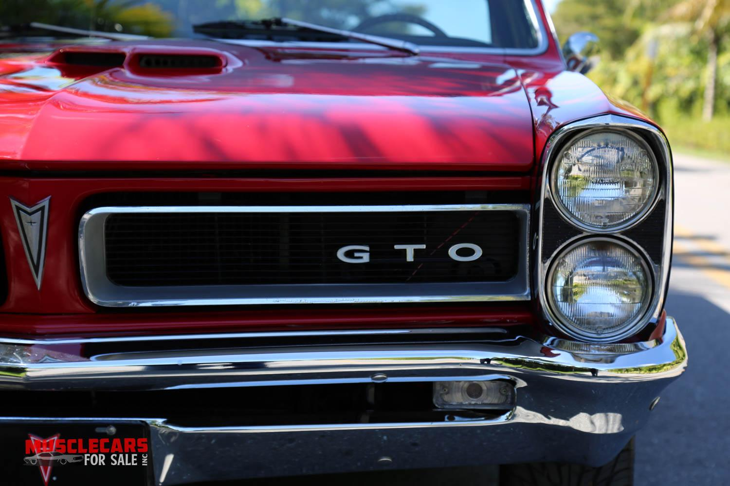 Used 1965 Pontiac  GTO for sale Sold at Muscle Cars for Sale Inc. in Fort Myers FL 33912 2