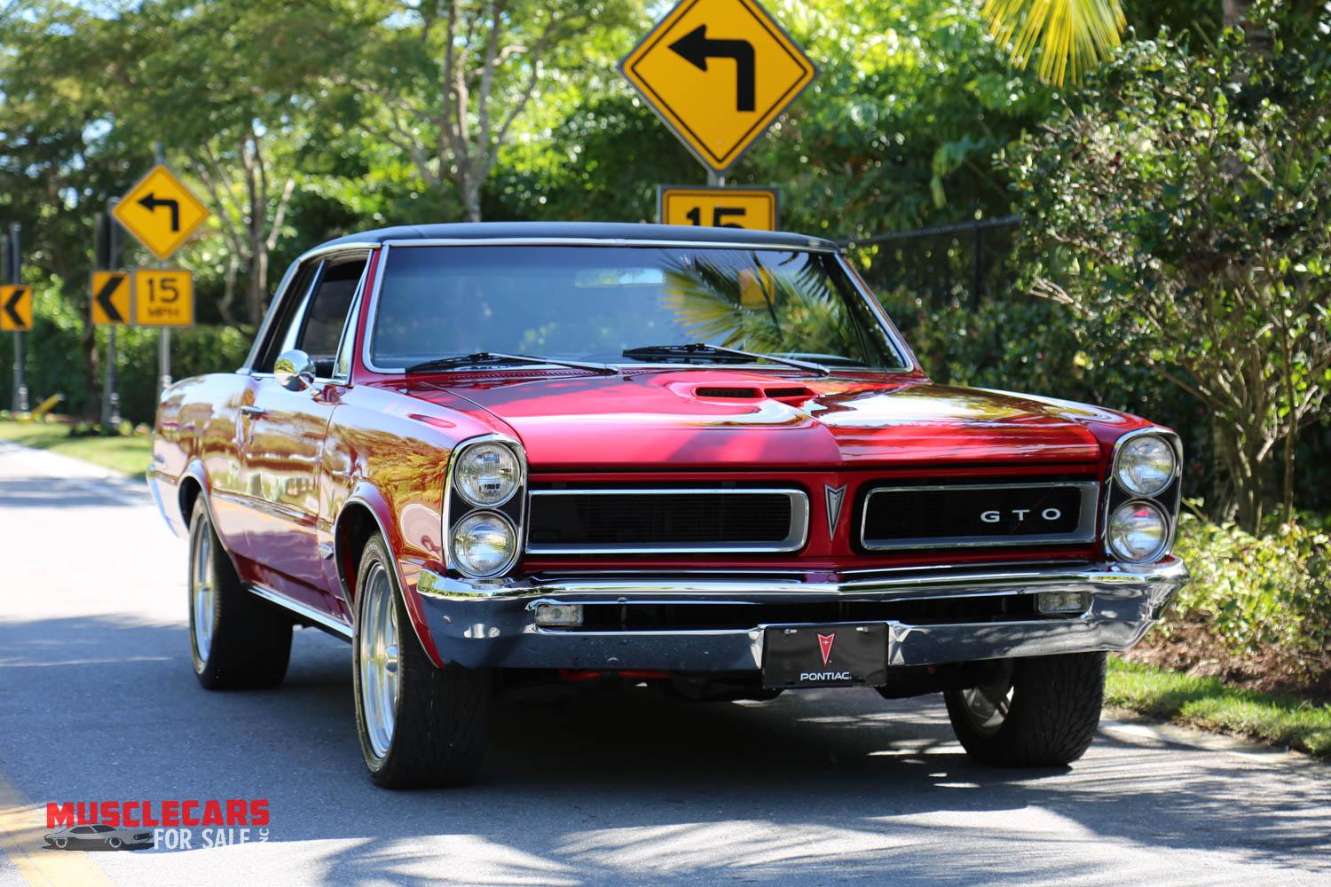 Used 1965 Pontiac  GTO for sale Sold at Muscle Cars for Sale Inc. in Fort Myers FL 33912 1