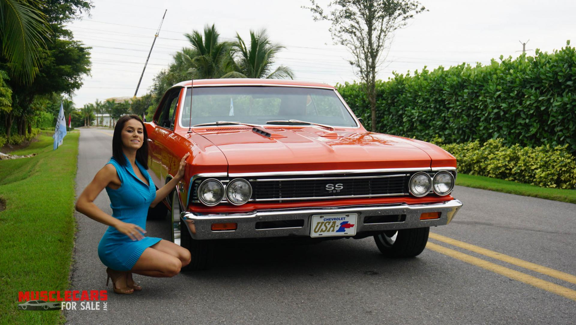 Used 1966 Chevrolet Chevelle SS for sale Sold at Muscle Cars for Sale Inc. in Fort Myers FL 33912 4