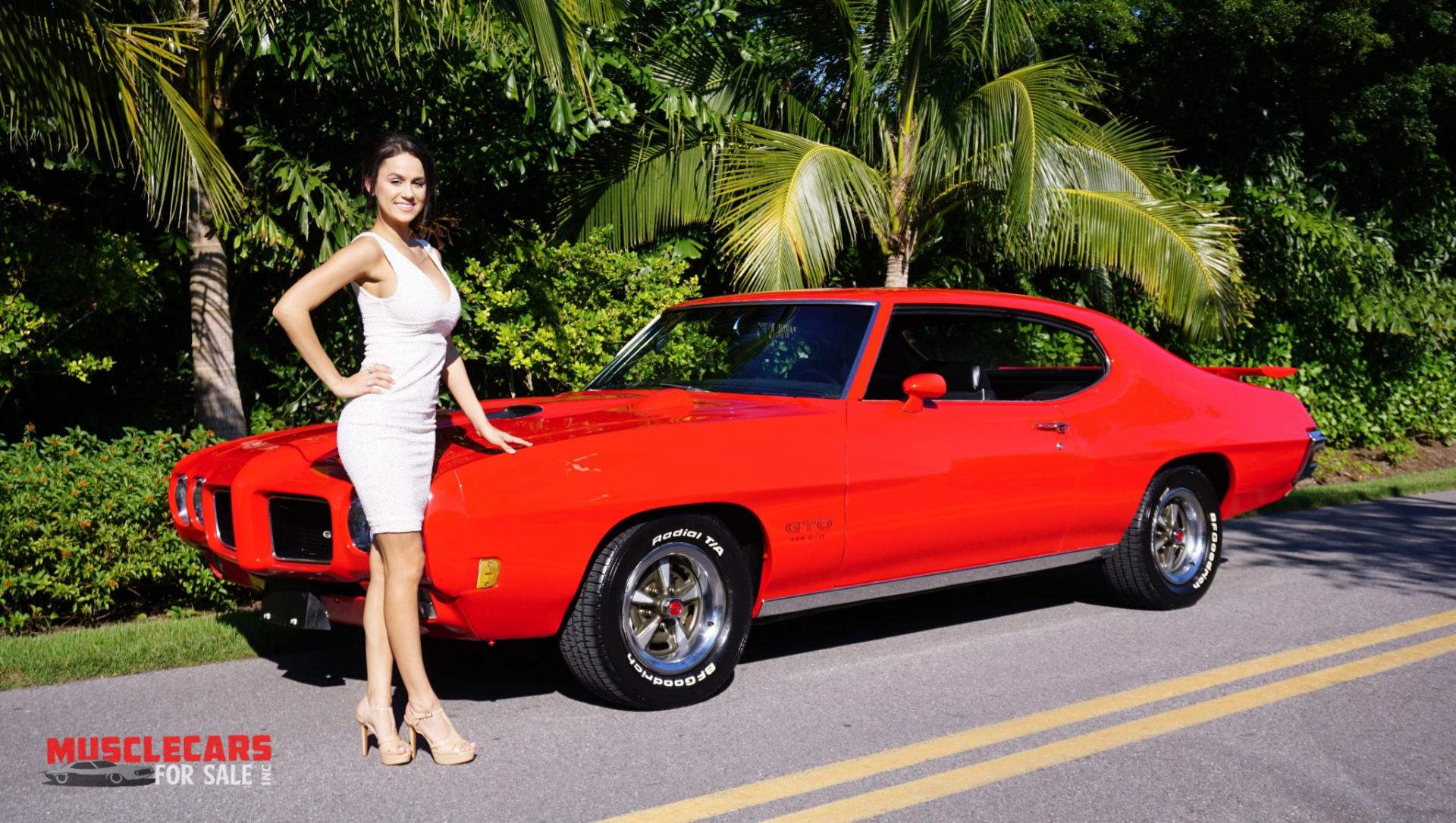 Used 1970 Pontiac  GTO for sale Sold at Muscle Cars for Sale Inc. in Fort Myers FL 33912 2