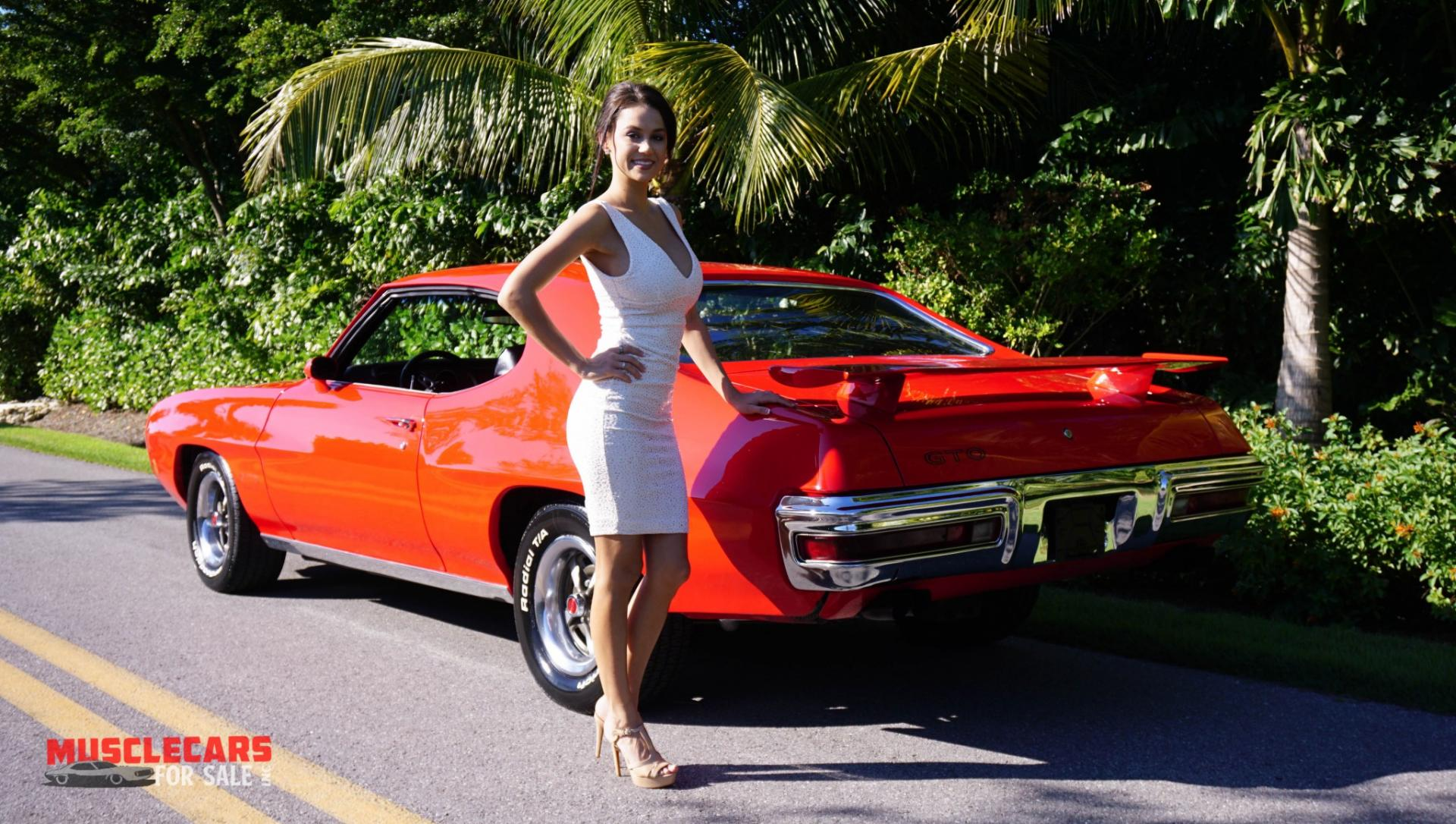 Used 1970 Pontiac  GTO for sale Sold at Muscle Cars for Sale Inc. in Fort Myers FL 33912 4