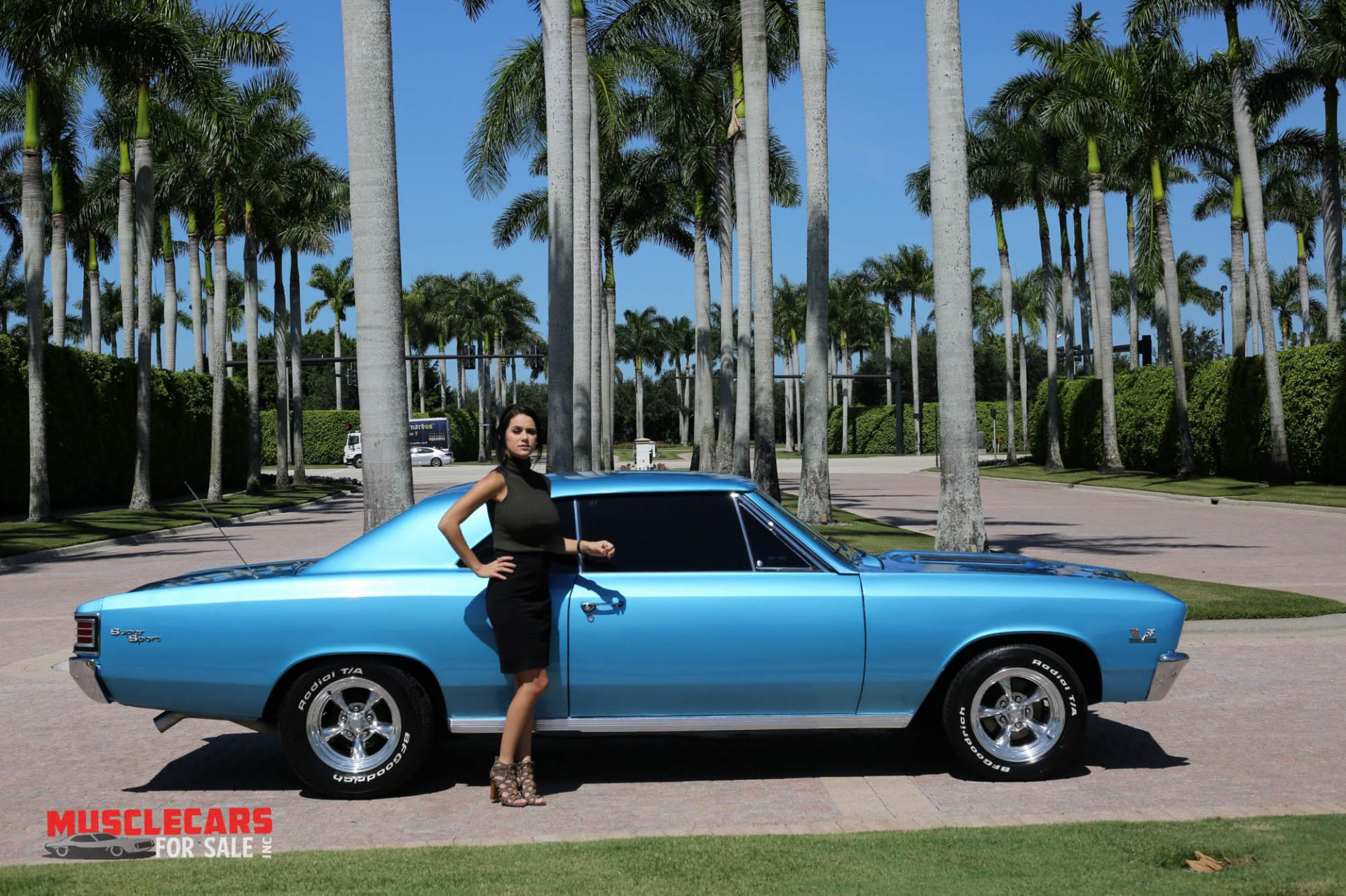 Used 1967 Chevrolet Chevelle SS for sale Sold at Muscle Cars for Sale Inc. in Fort Myers FL 33912 2