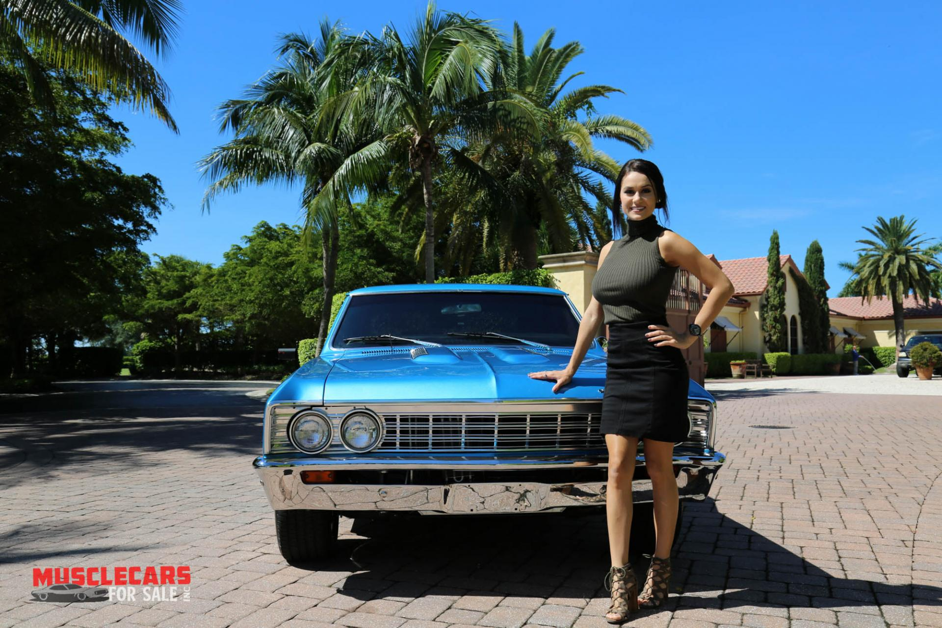 Used 1967 Chevrolet Chevelle SS for sale Sold at Muscle Cars for Sale Inc. in Fort Myers FL 33912 4