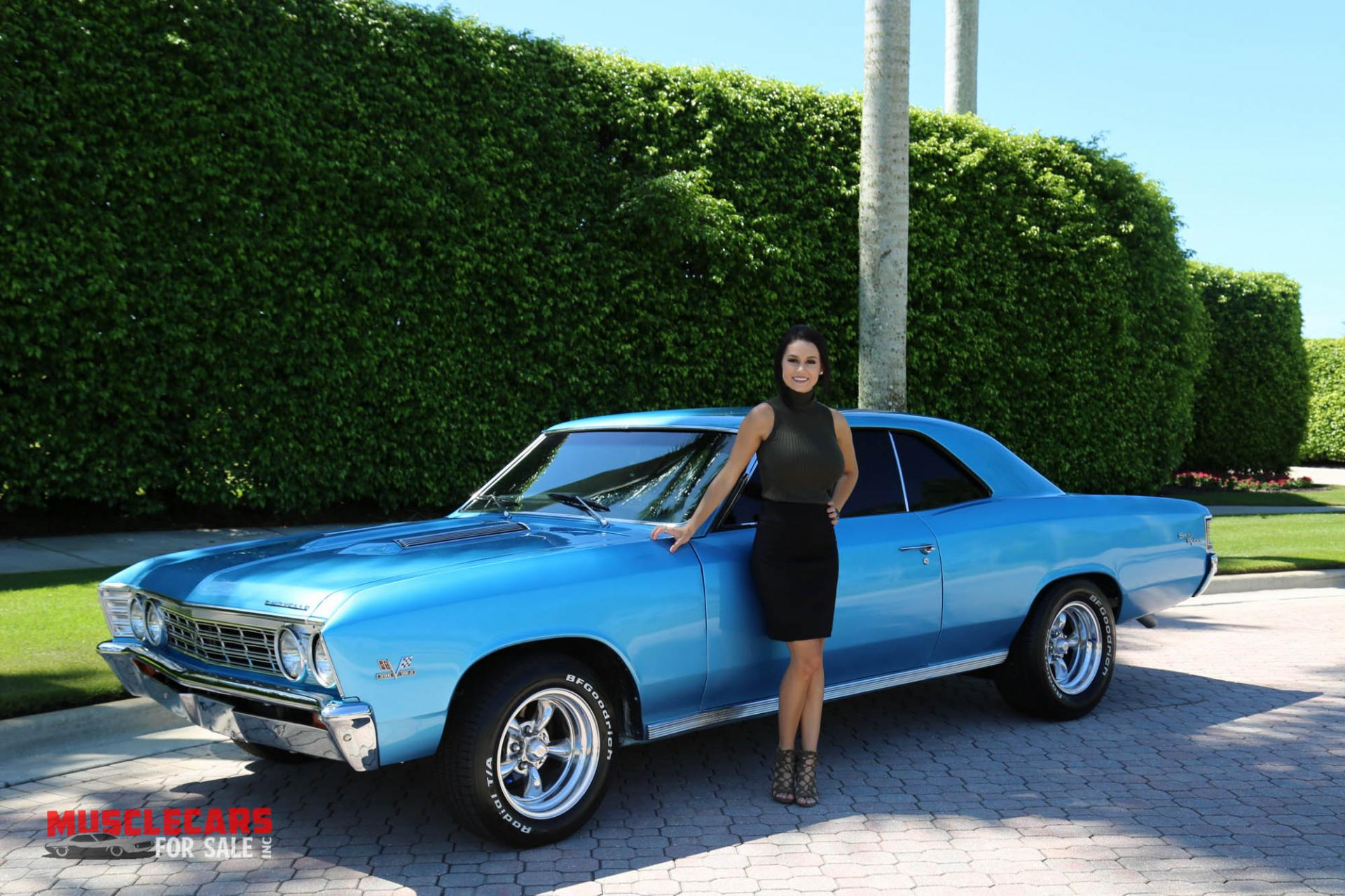 Used 1967 Chevrolet Chevelle SS for sale Sold at Muscle Cars for Sale Inc. in Fort Myers FL 33912 6