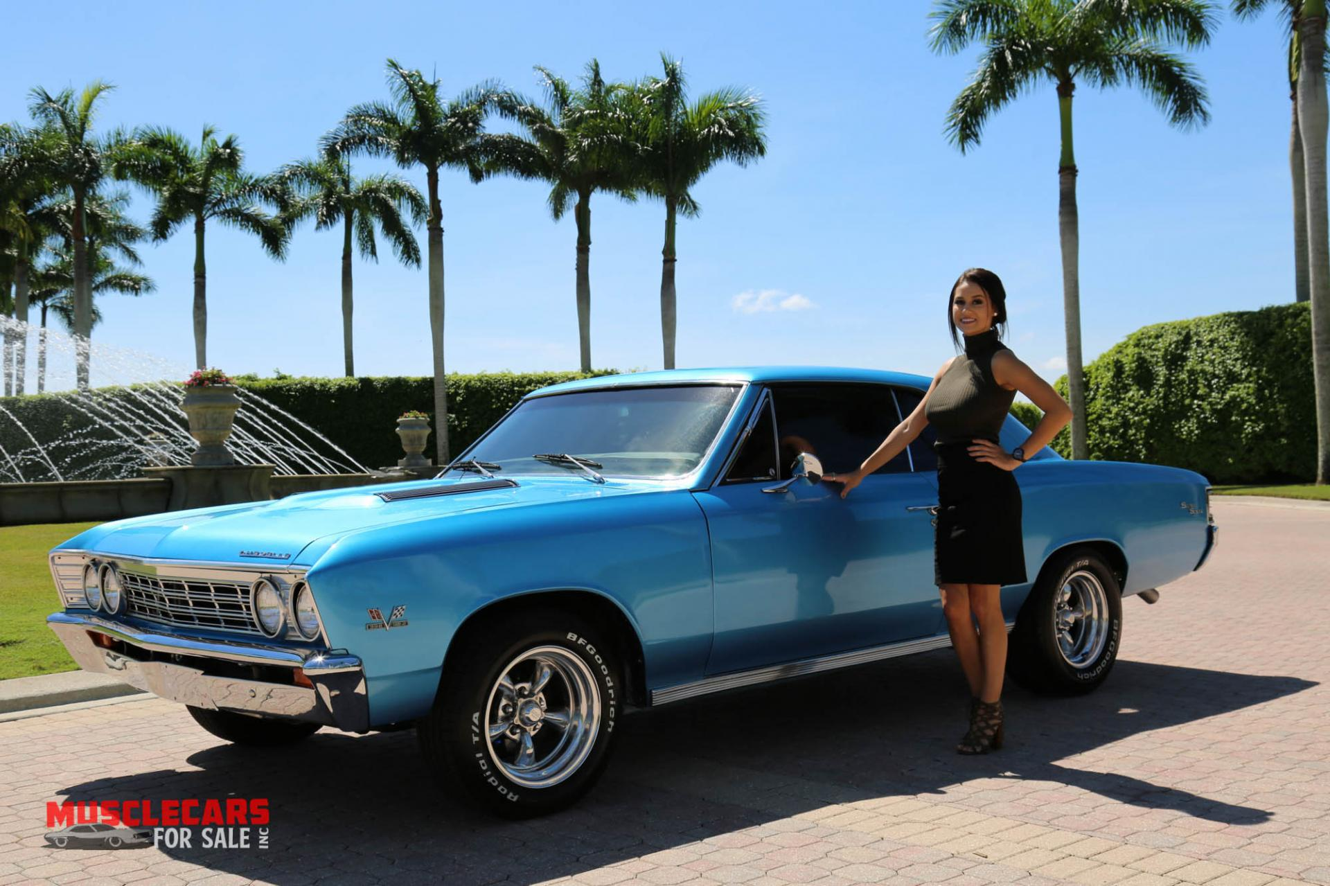 Used 1967 Chevrolet Chevelle SS for sale Sold at Muscle Cars for Sale Inc. in Fort Myers FL 33912 7