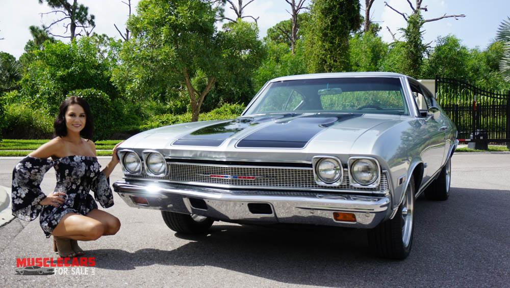 Used 1968 Chevrolet Chevelle for sale Sold at Muscle Cars for Sale Inc. in Fort Myers FL 33912 3