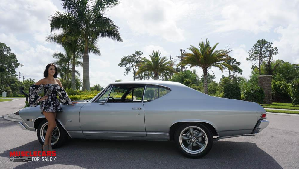 Used 1968 Chevrolet Chevelle for sale Sold at Muscle Cars for Sale Inc. in Fort Myers FL 33912 7