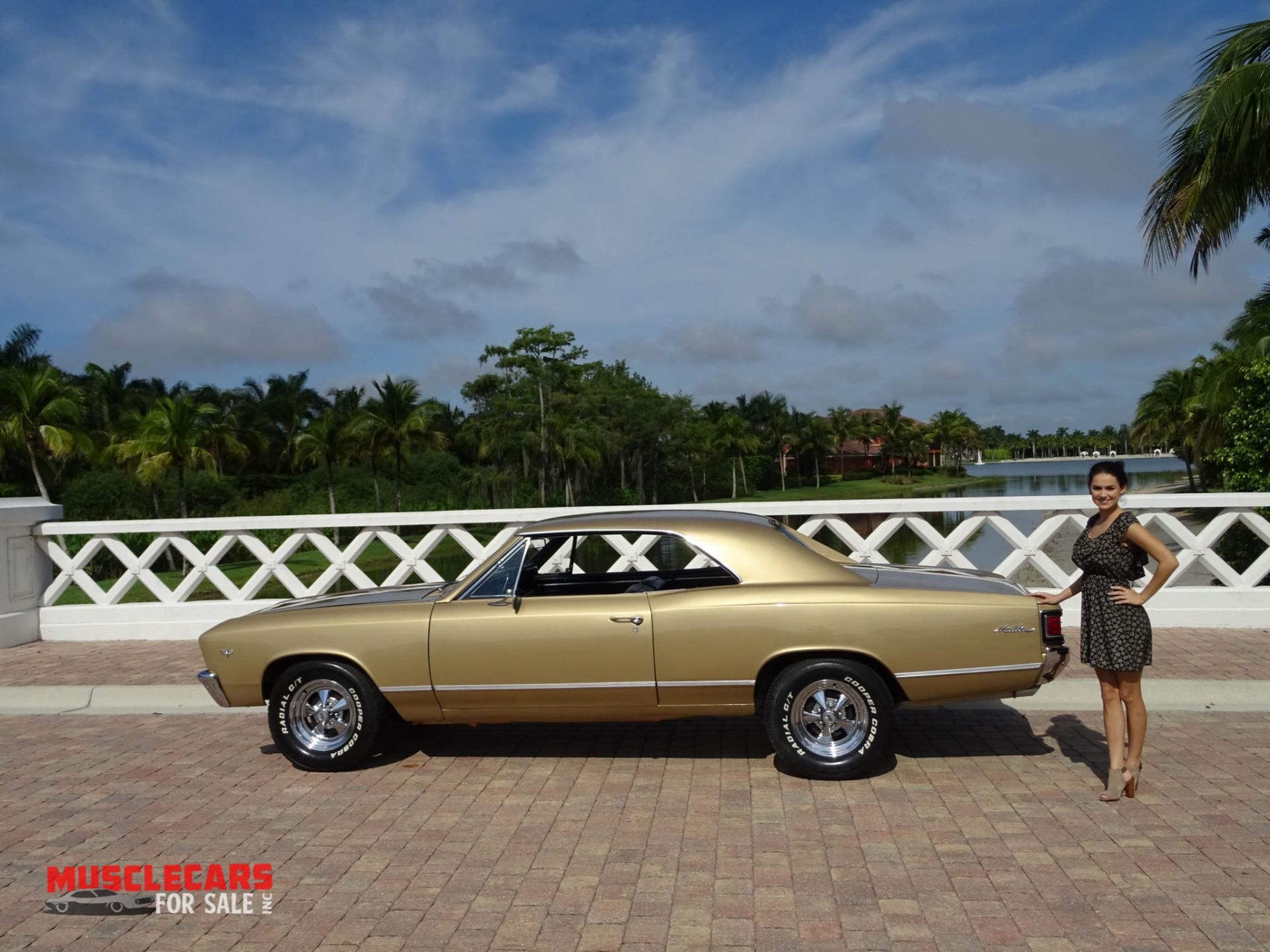 Used 1967 Chevrolet Chevelle for sale Sold at Muscle Cars for Sale Inc. in Fort Myers FL 33912 4