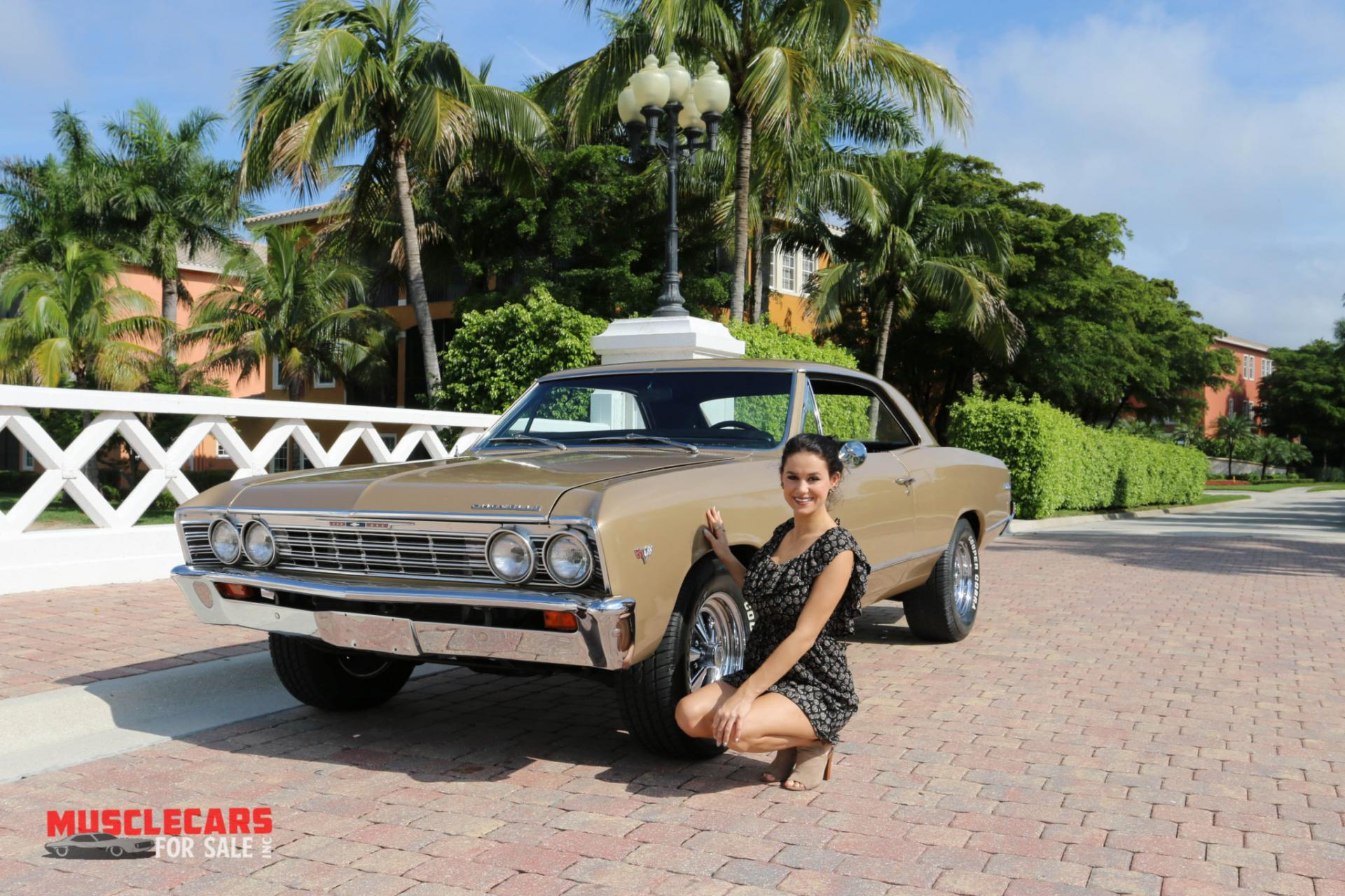 Used 1967 Chevrolet Chevelle for sale Sold at Muscle Cars for Sale Inc. in Fort Myers FL 33912 1