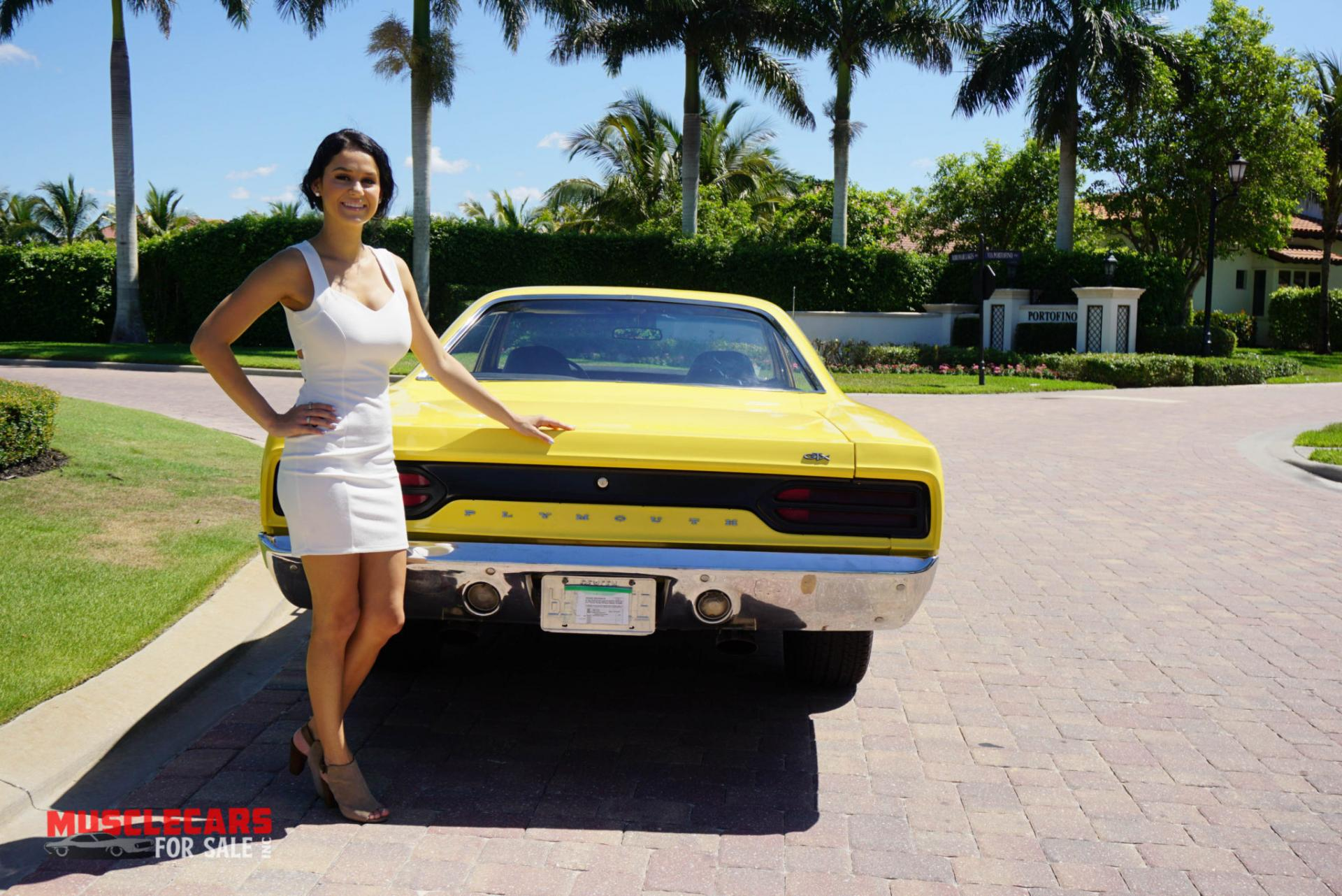 Used 1970 Plymouth  GTX for sale Sold at Muscle Cars for Sale Inc. in Fort Myers FL 33912 3